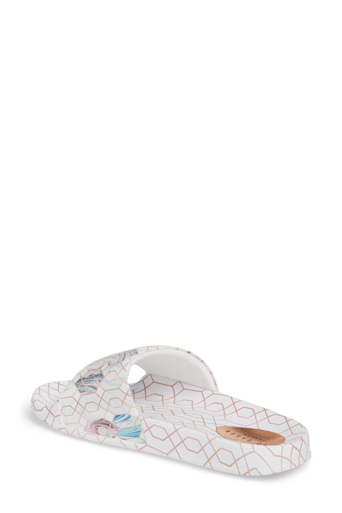 19082c97c541 Lyst - Ted Baker Aveline Sandal (women) in White
