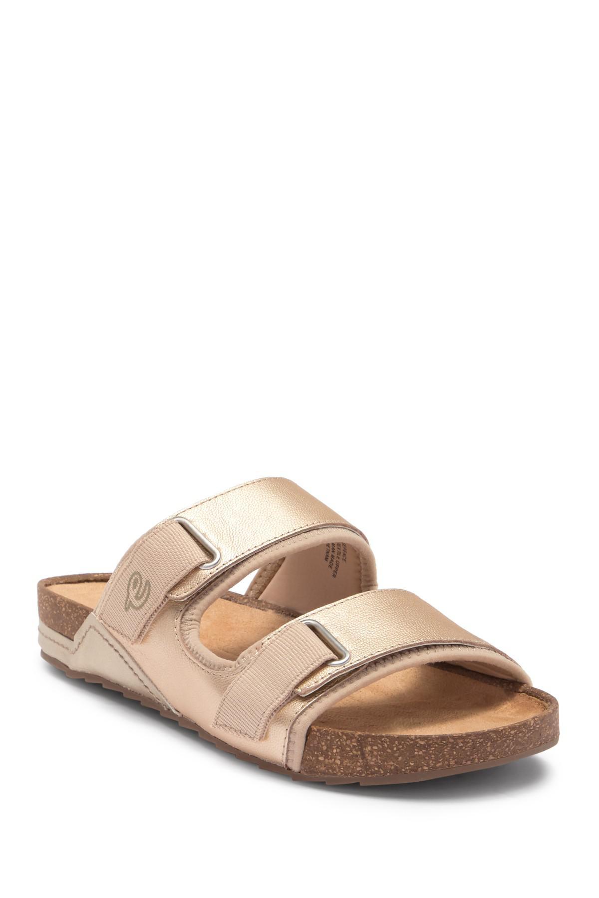 16ea5f9fa919 Lyst - Easy Spirit Peace Slide Sandal - Wide Width Available