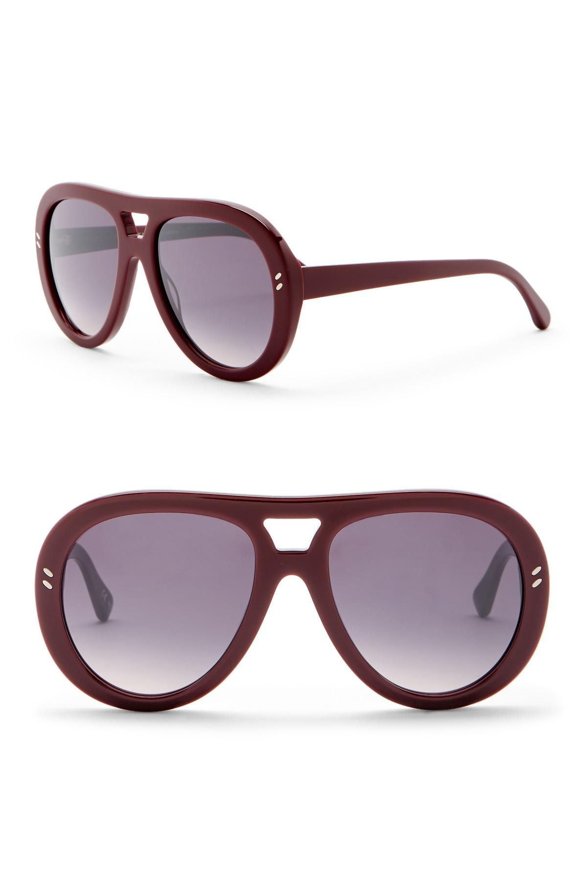 4052e3353e3c Stella McCartney. Women s Red 55mm Aviator Sunglasses.  290  120 From Nordstrom  Rack