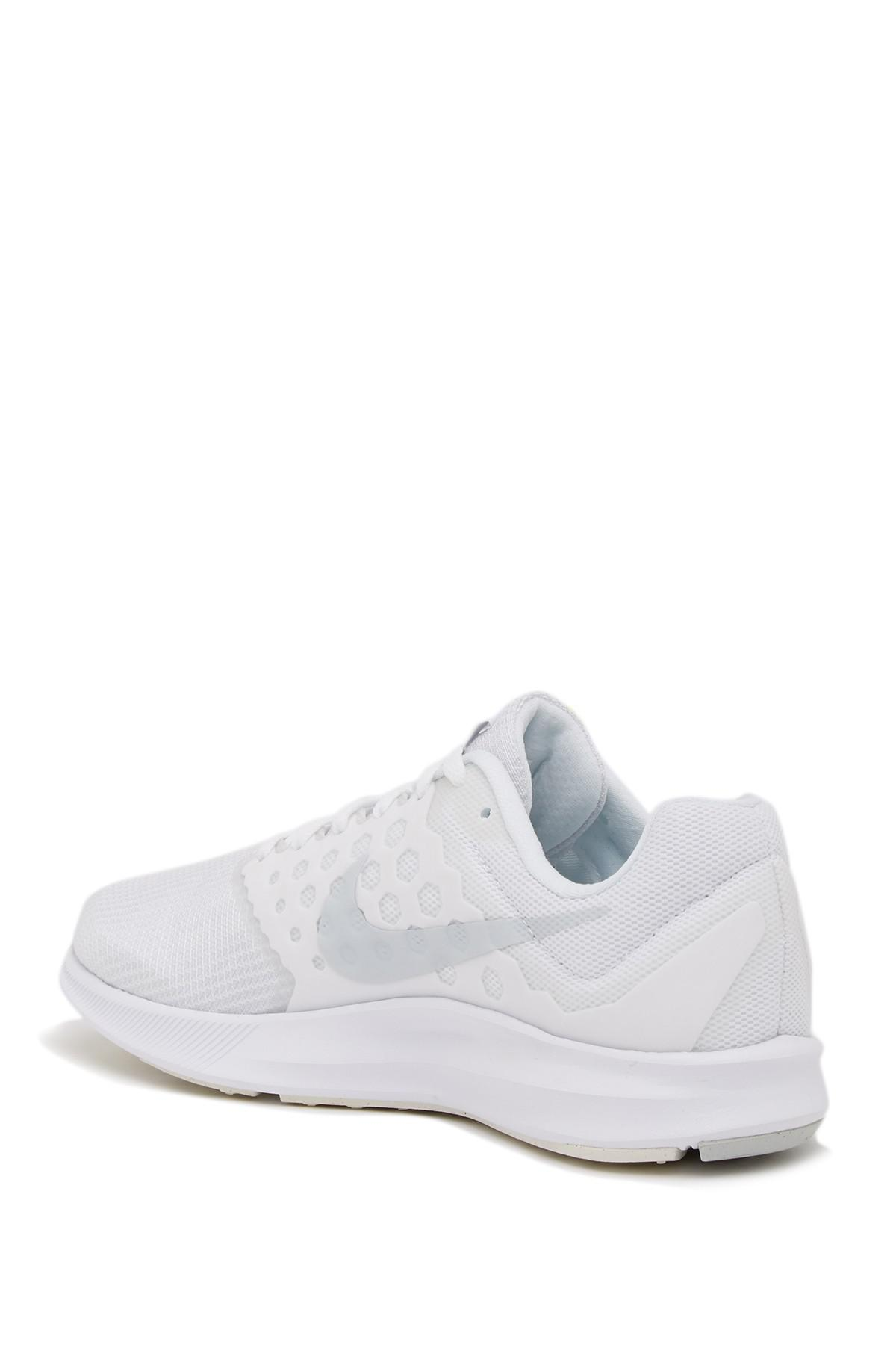 2690e7514d23 Nike - White Downshifter 7 Mesh Running Shoe for Men - Lyst. View fullscreen