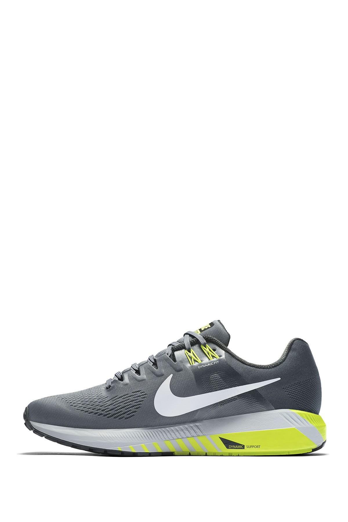 new style 7abc1 8e39b Nike - Gray Air Zoom Structure 21 4e Sneaker for Men - Lyst. View fullscreen