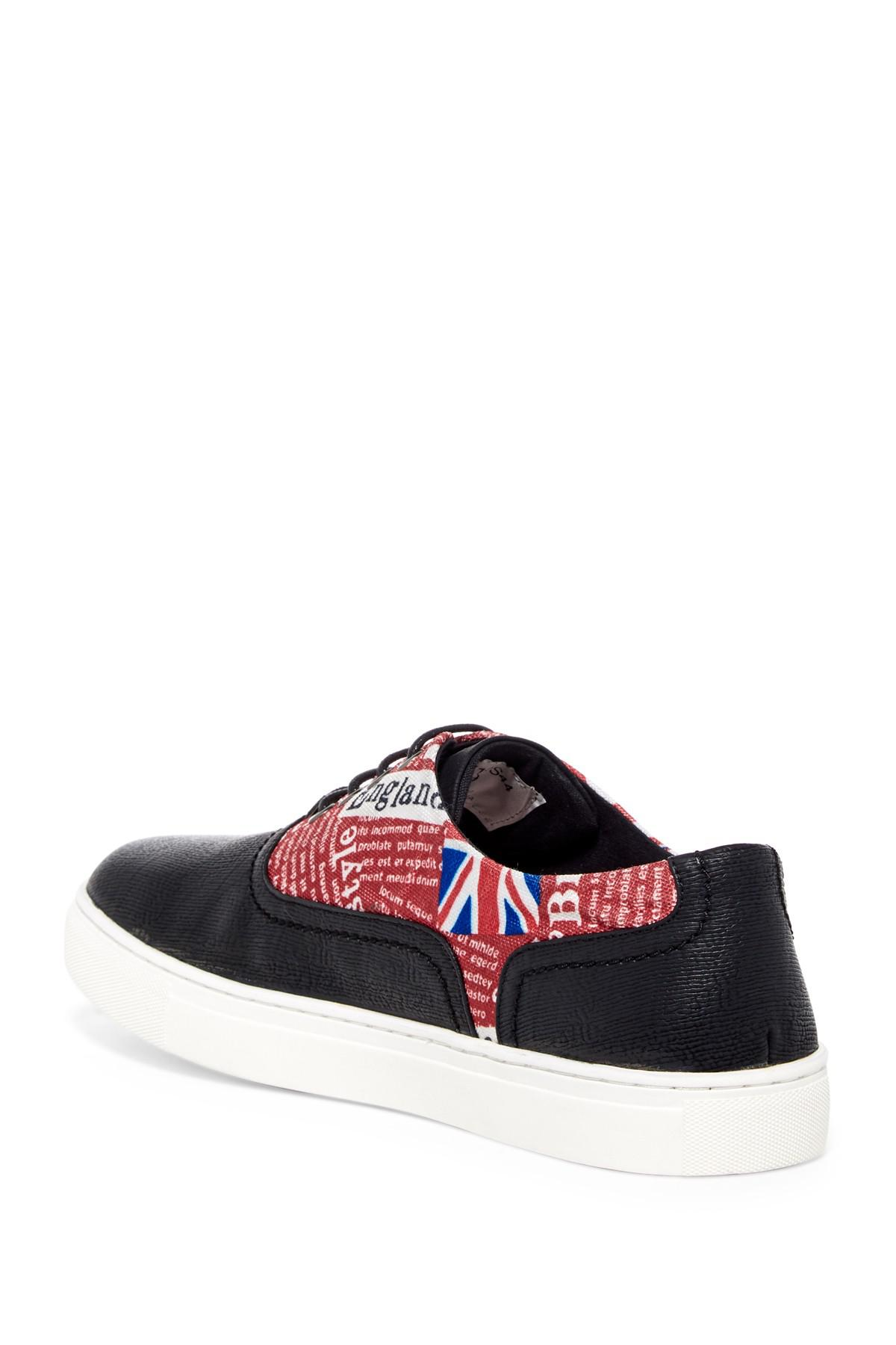 English Laundry Covent Mixed Media Sneaker 9MqBCLPU