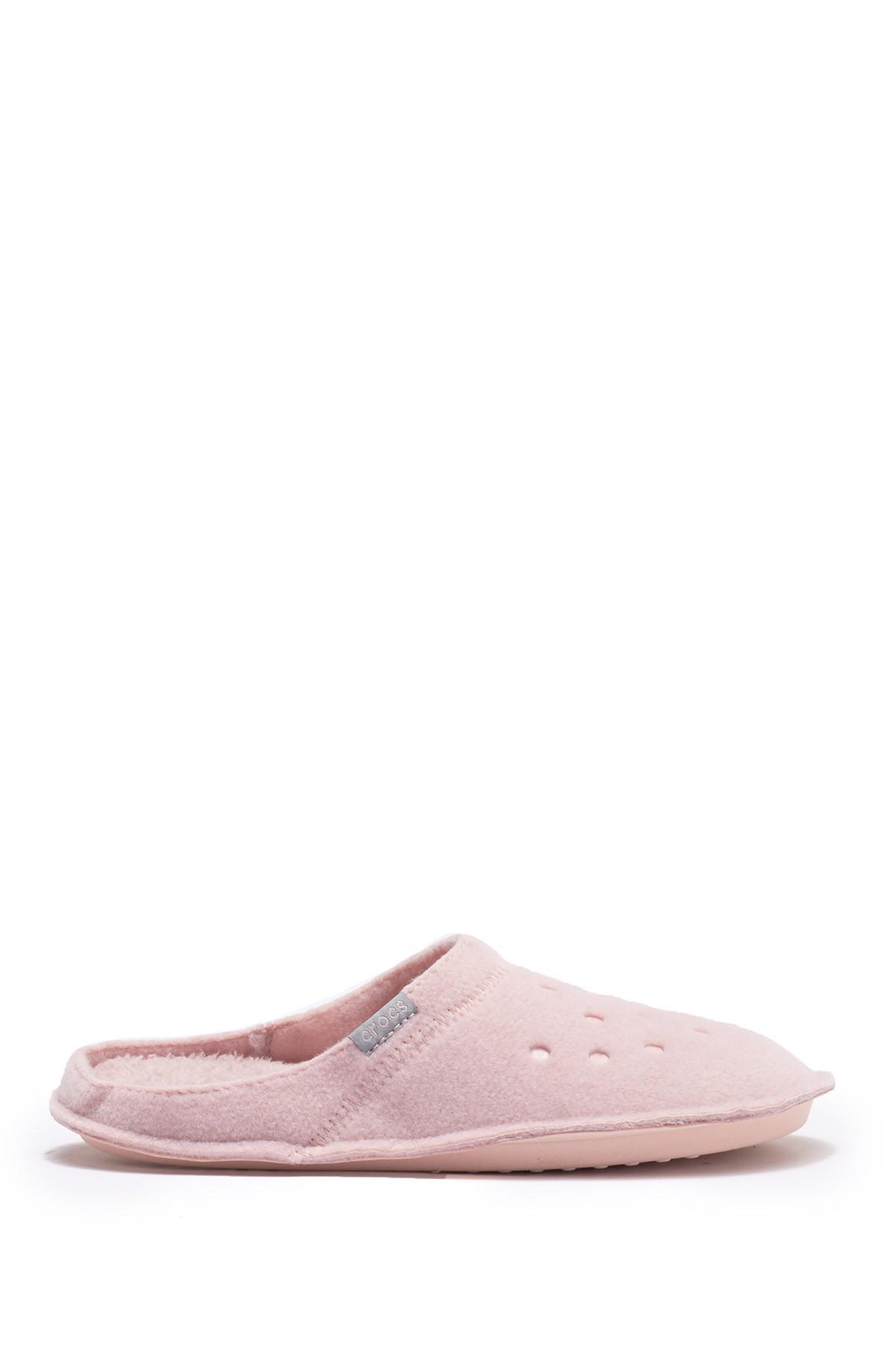 3f0eac7326318f Crocs™ - Pink Classic Faux Fur Slipper - Lyst. View fullscreen