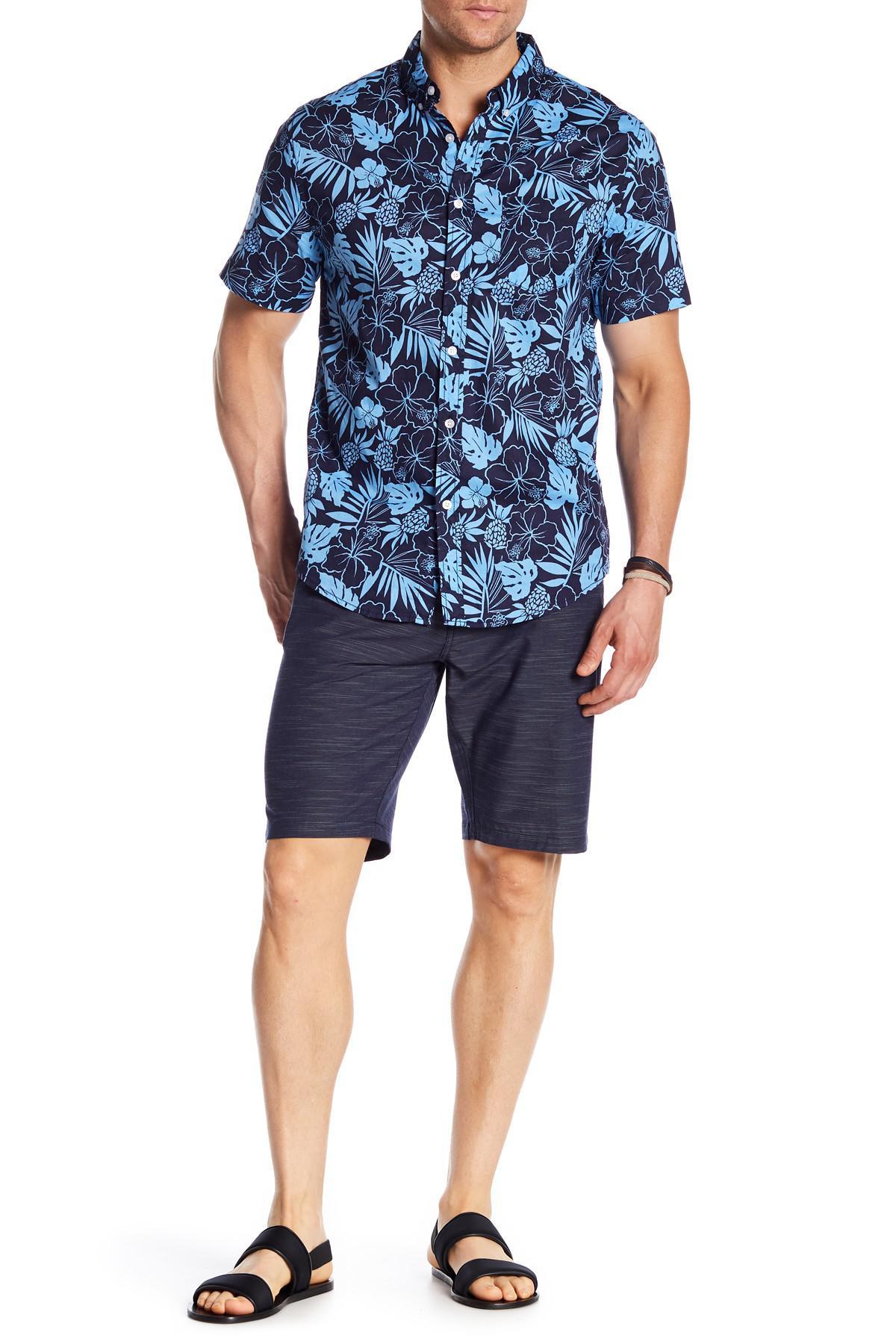 2551d1479e TRUNKS SURF AND SWIM CO Multi Functional Shorts in Blue for Men - Lyst