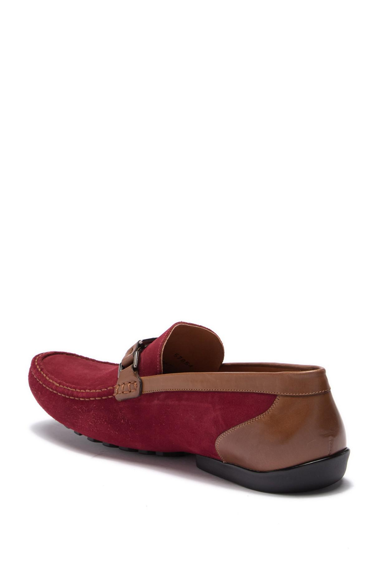 c3b0a59a895 Lyst - Mezlan Taddeo Driving Shoe in Red for Men