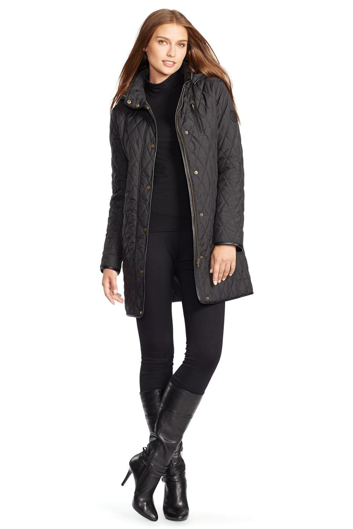Ralph Lauren Leather Jacket Womens - Right Jackets
