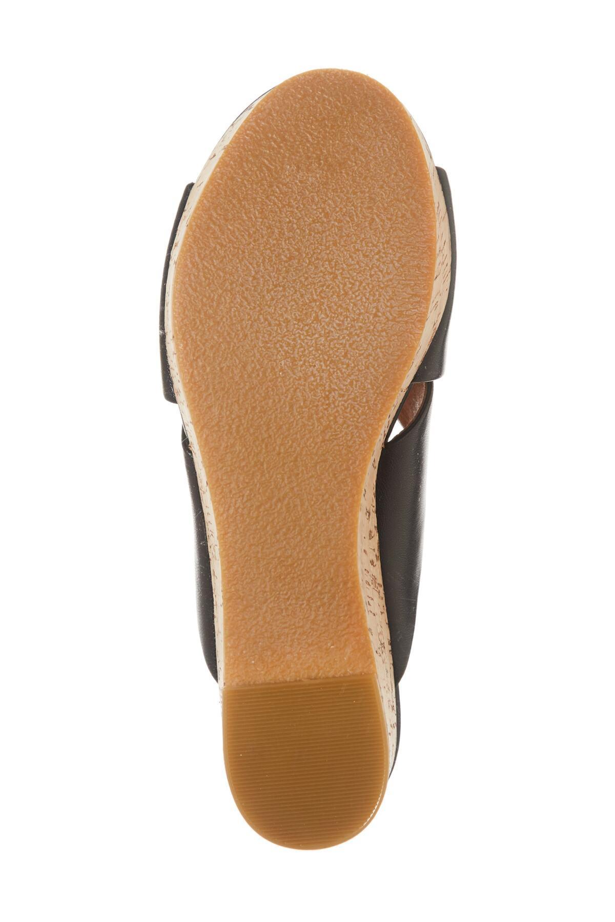 87c8f54edbc Halogen - Black (r) Elena Platform Wedge Sandal (women) - Lyst. View  fullscreen