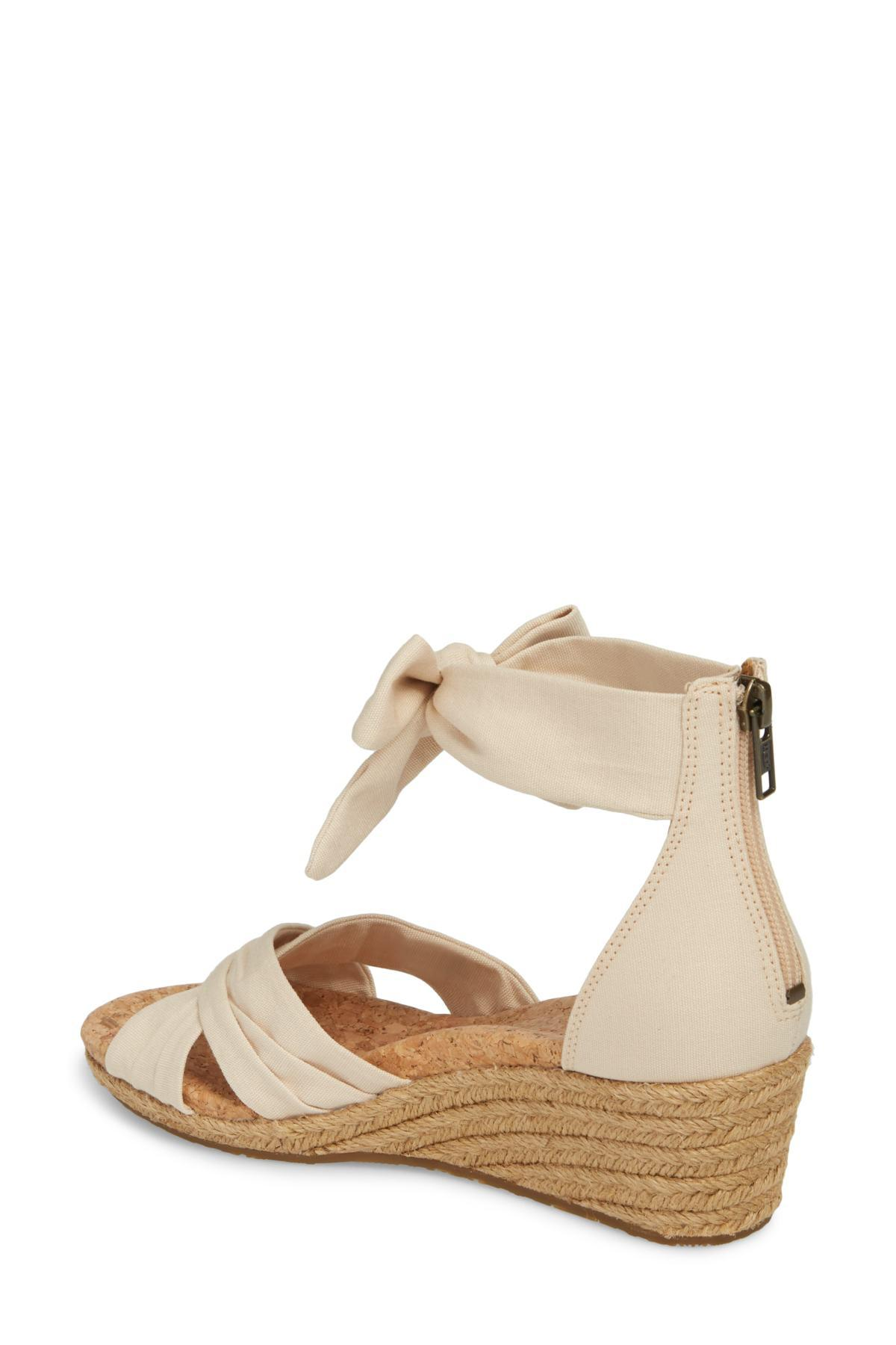 d89eb0bcbced Ugg - Multicolor (r) Traci Espadrille Wedge Sandal (women) - Lyst. View  fullscreen