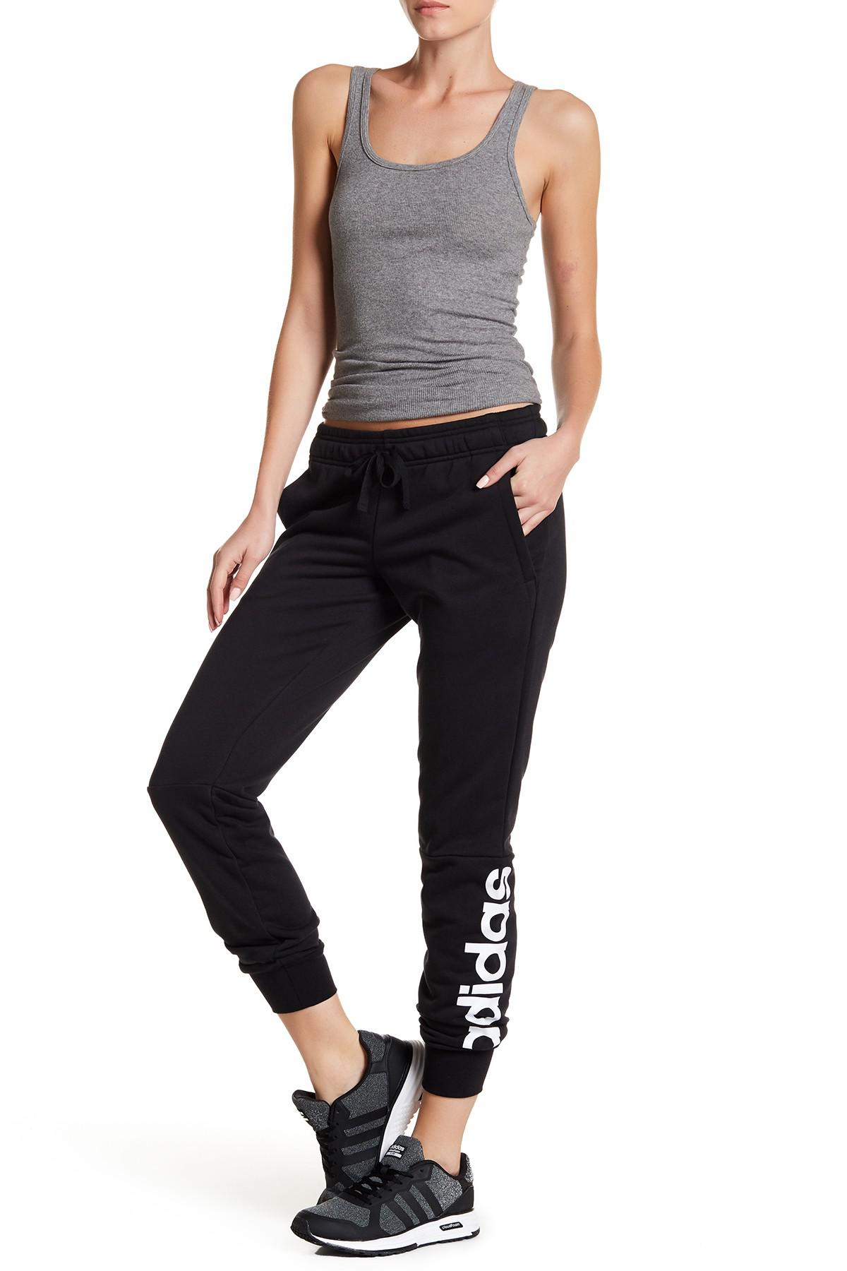 82b945ba97c adidas. Women s Black Essentials Linear Pants.  45  30 From Nordstrom Rack