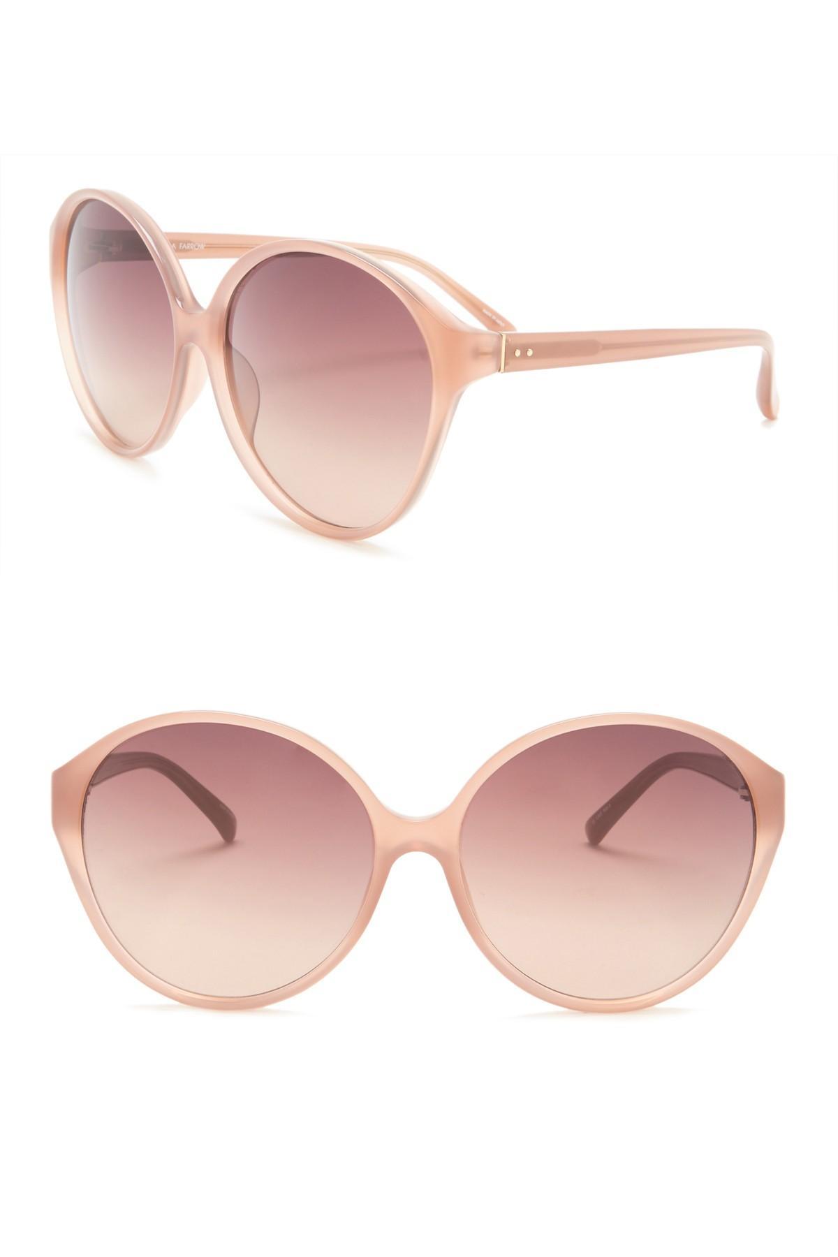 aabb0432eae84 Linda Farrow. Women s 63mm Cat Eye Sunglasses