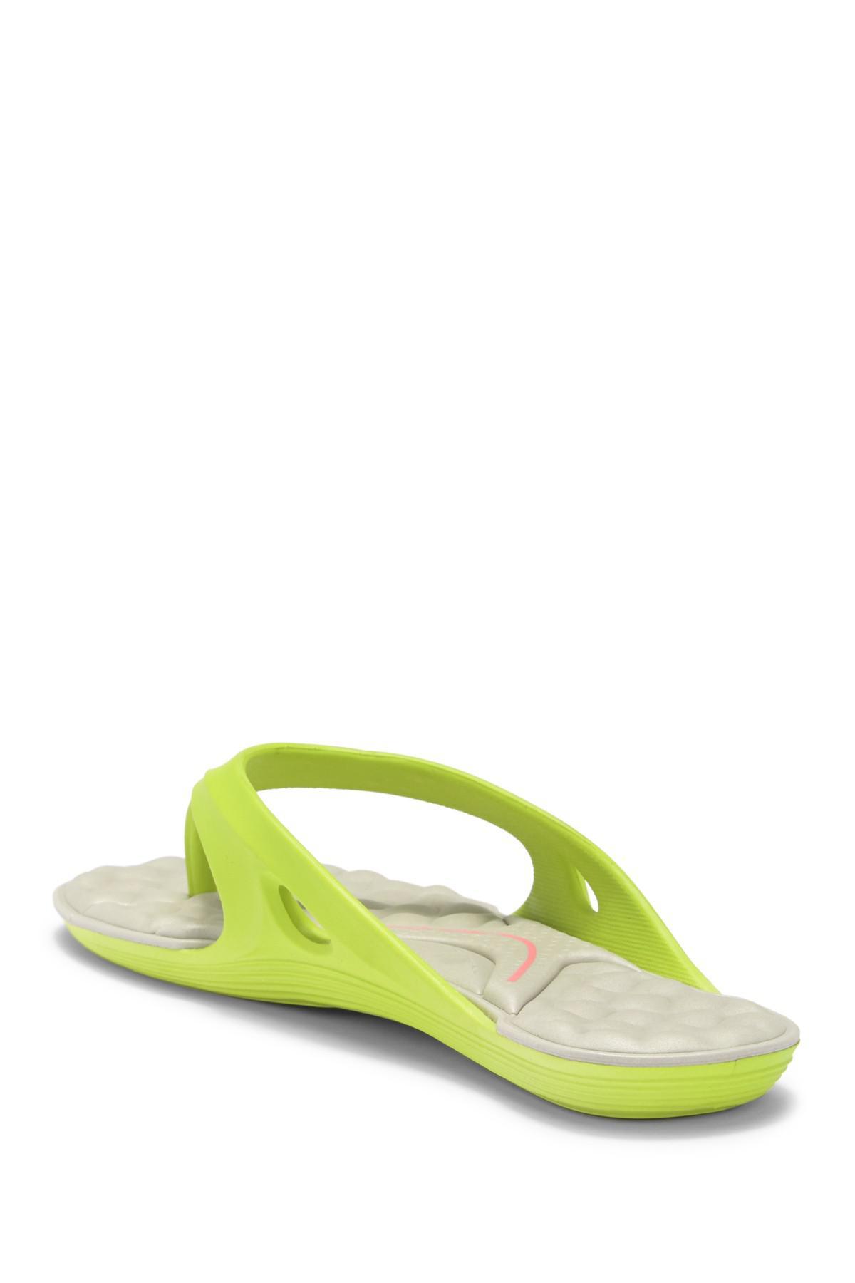 598eb3d696486 Lyst - Rider Monza Ii Waterproof Flip-flop (women) in Green