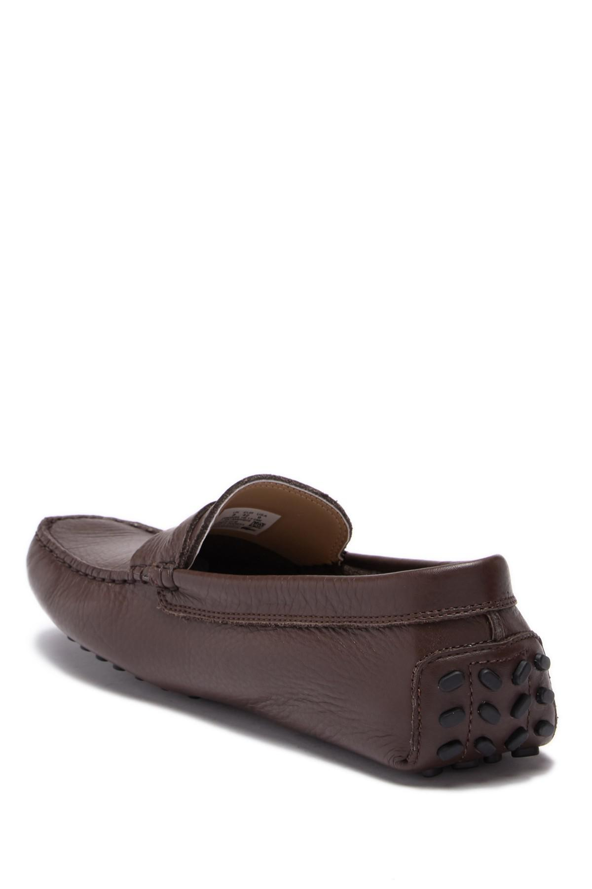 7c9d80f88eeef Lacoste - Brown Concours 118 Leather Penny Loafer for Men - Lyst. View  fullscreen