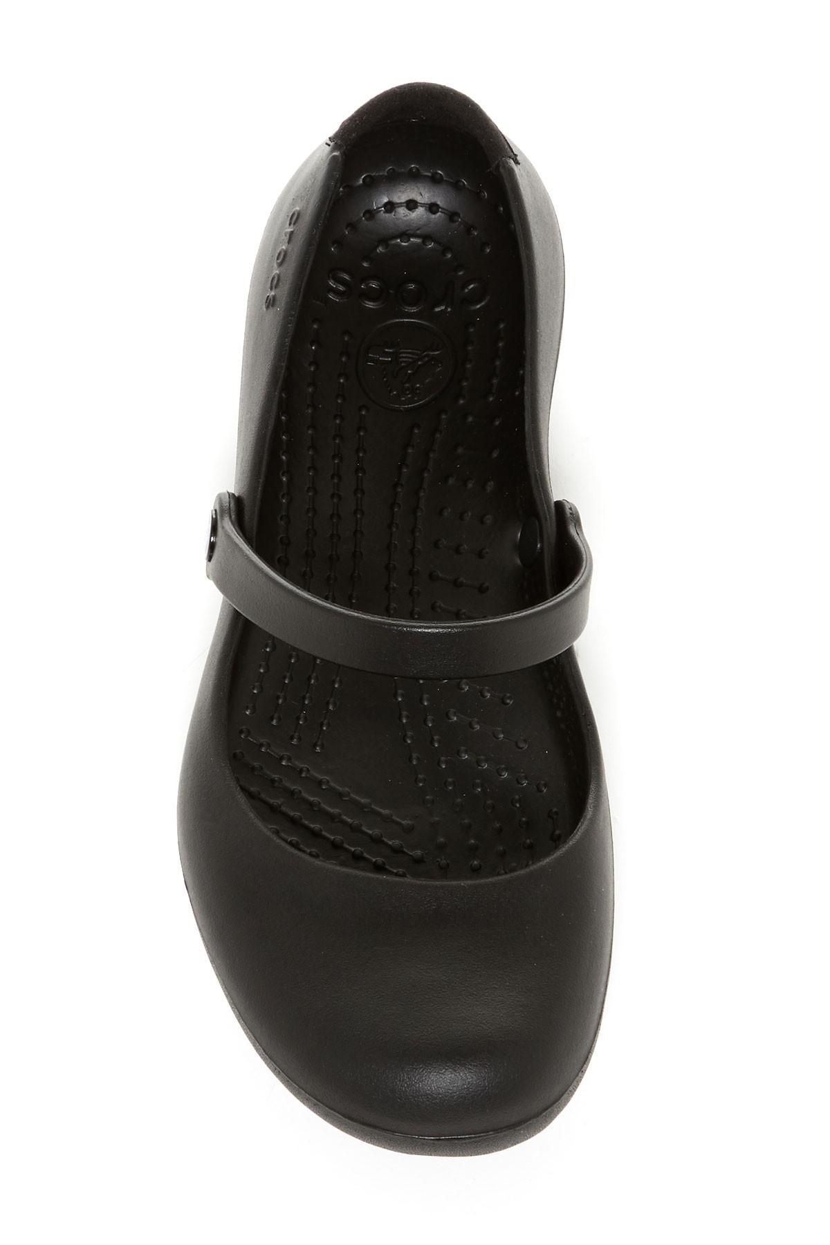 0a4e6d06209f Lyst - Crocs™ Alice Work Mary Jane in Black