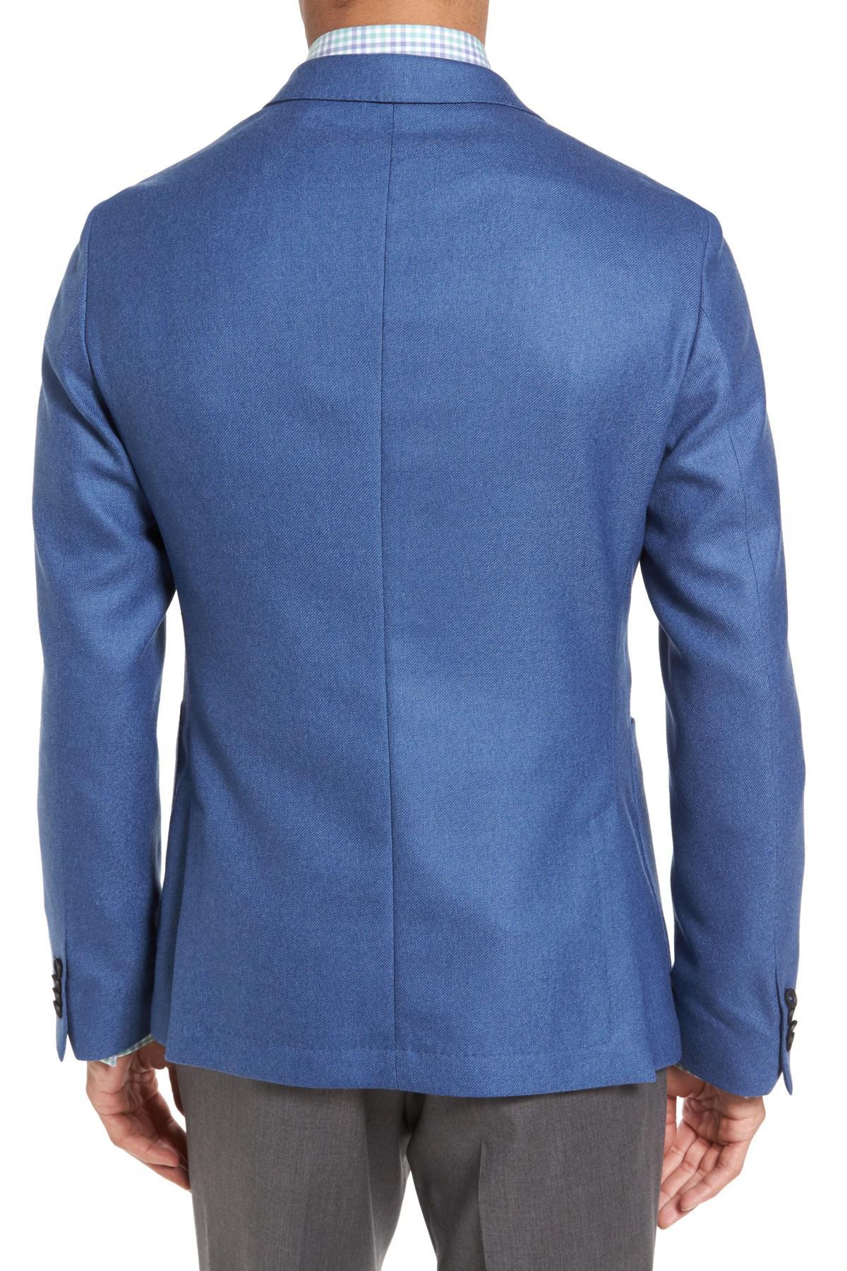 c3843c9408 Lyst - Boss Nold Trim Fit Wool Blazer in Blue for Men