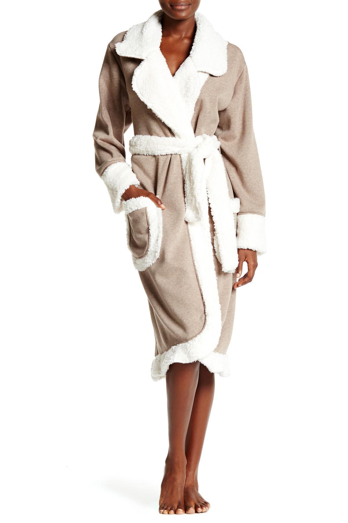 Lyst - UGG Duffield Deluxe Fleece Robe 74a8c958d