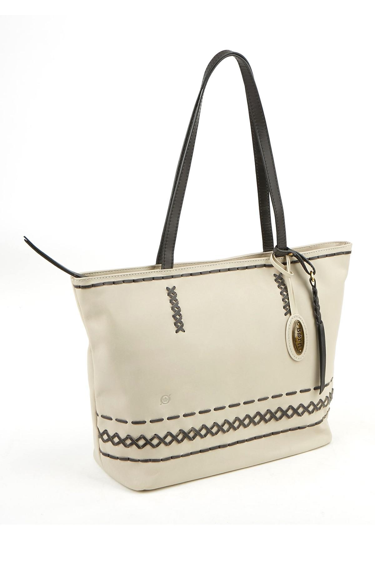 Lyst - Born Wellington Leather Tote Bag a7982815adc2e