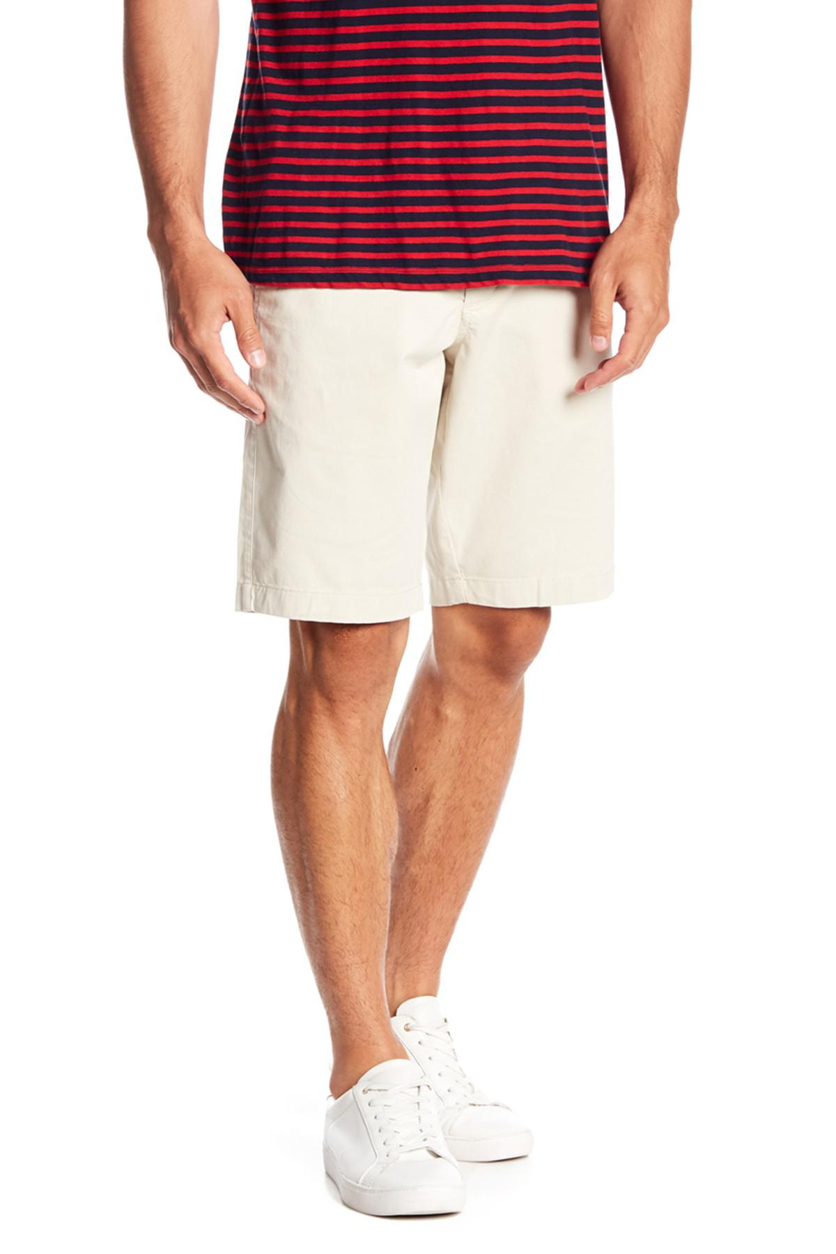 79645096d5 1901 - Natural Ballard Slim Fit Stretch Chino 11-inch Shorts for Men - Lyst