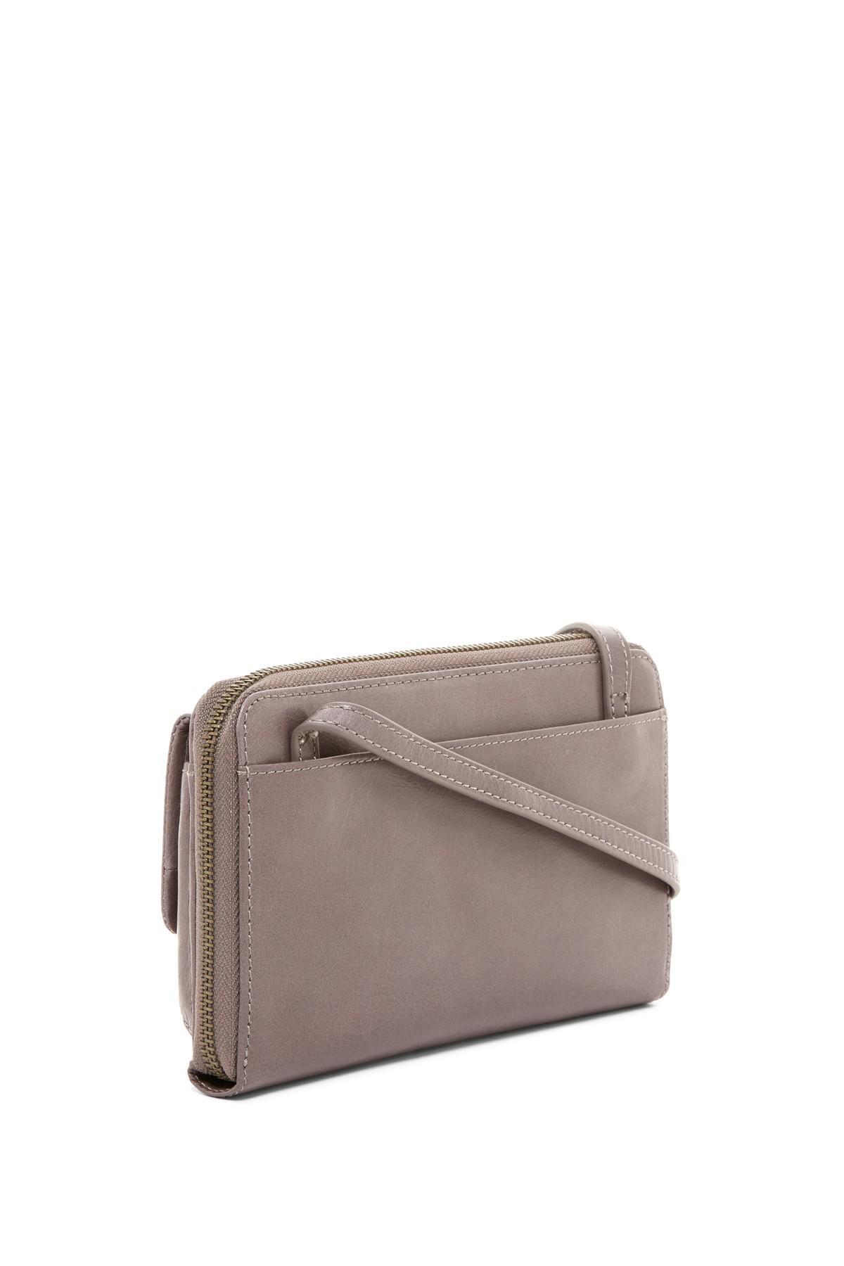 Lyst Hobo Abrielle Leather Crossbody Bag Ready Nwt Maya Brown Gallery