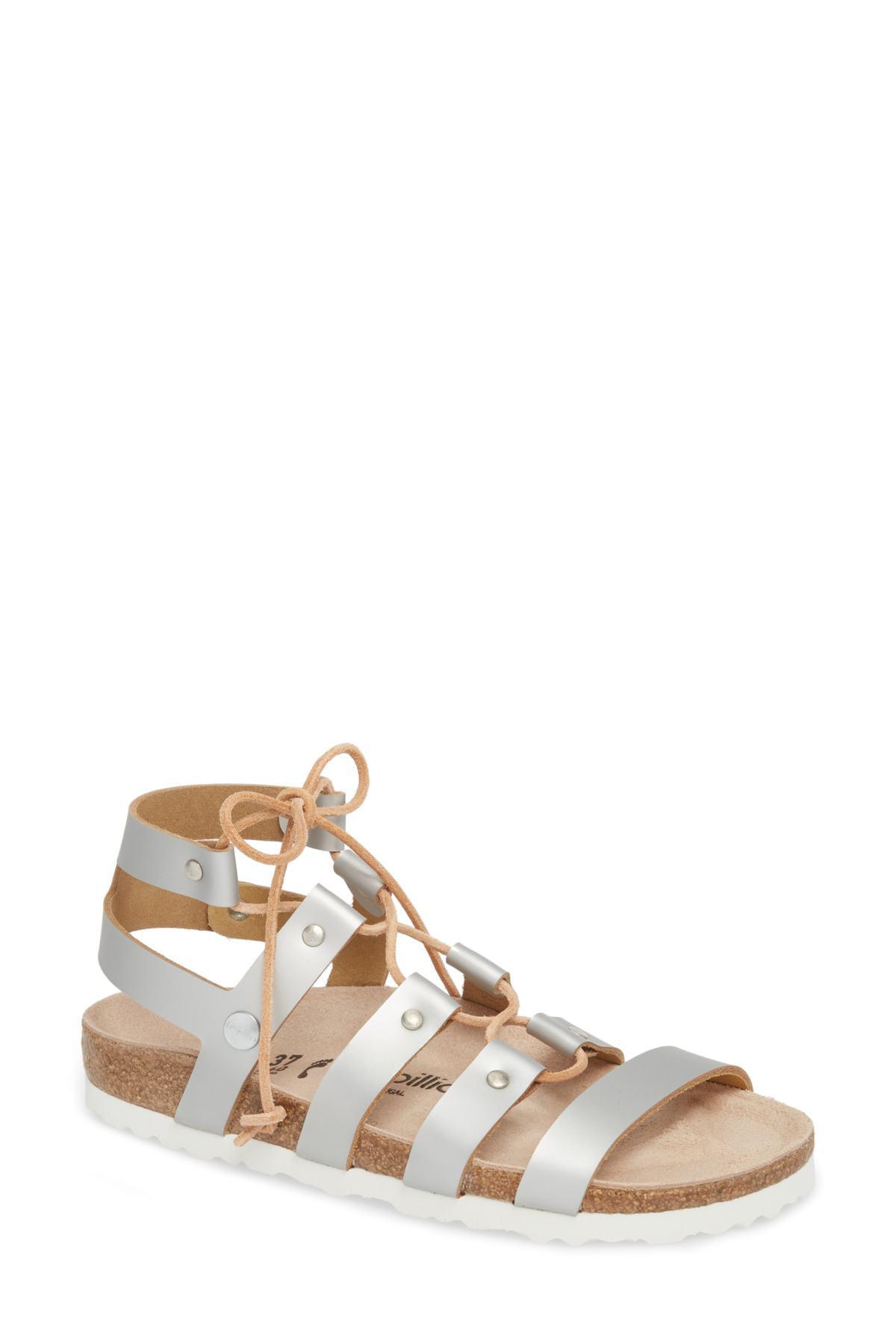 d2ad9434118 Birkenstock Papillio By Cleo Gladiator Sandal (women) in Metallic - Lyst