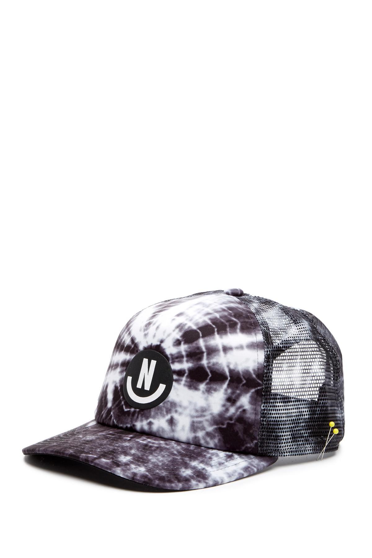 ea175ebb Lyst - Neff Smile Wash Trucker Hat in Black for Men