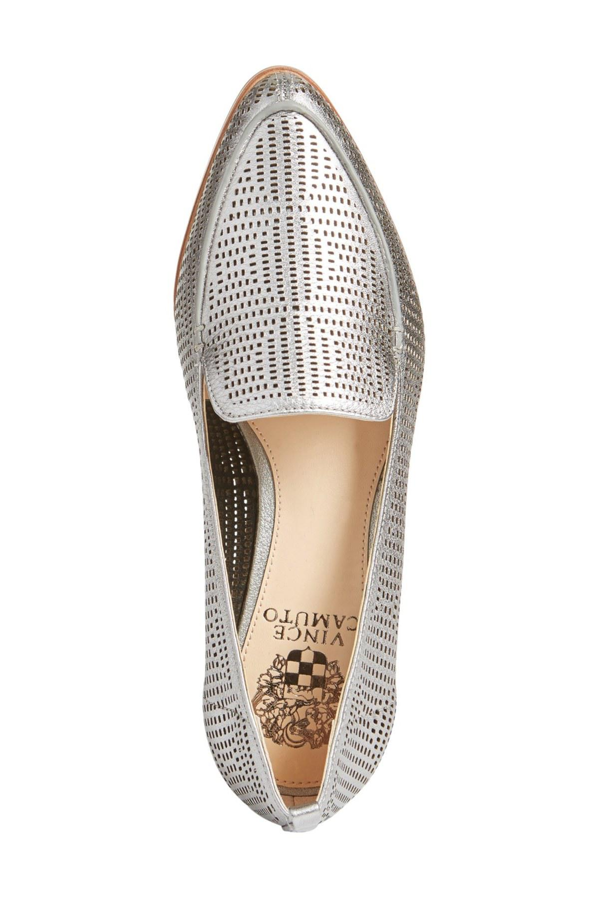 56244177f42 Lyst - Vince Camuto Kade Cutout Loafer - Slim Width Available in ...