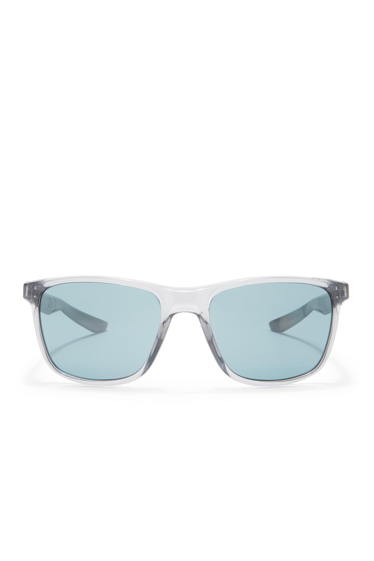 10fccf9be9 Nike - Gray Unrest 57mm Square Sunglasses for Men - Lyst. View fullscreen