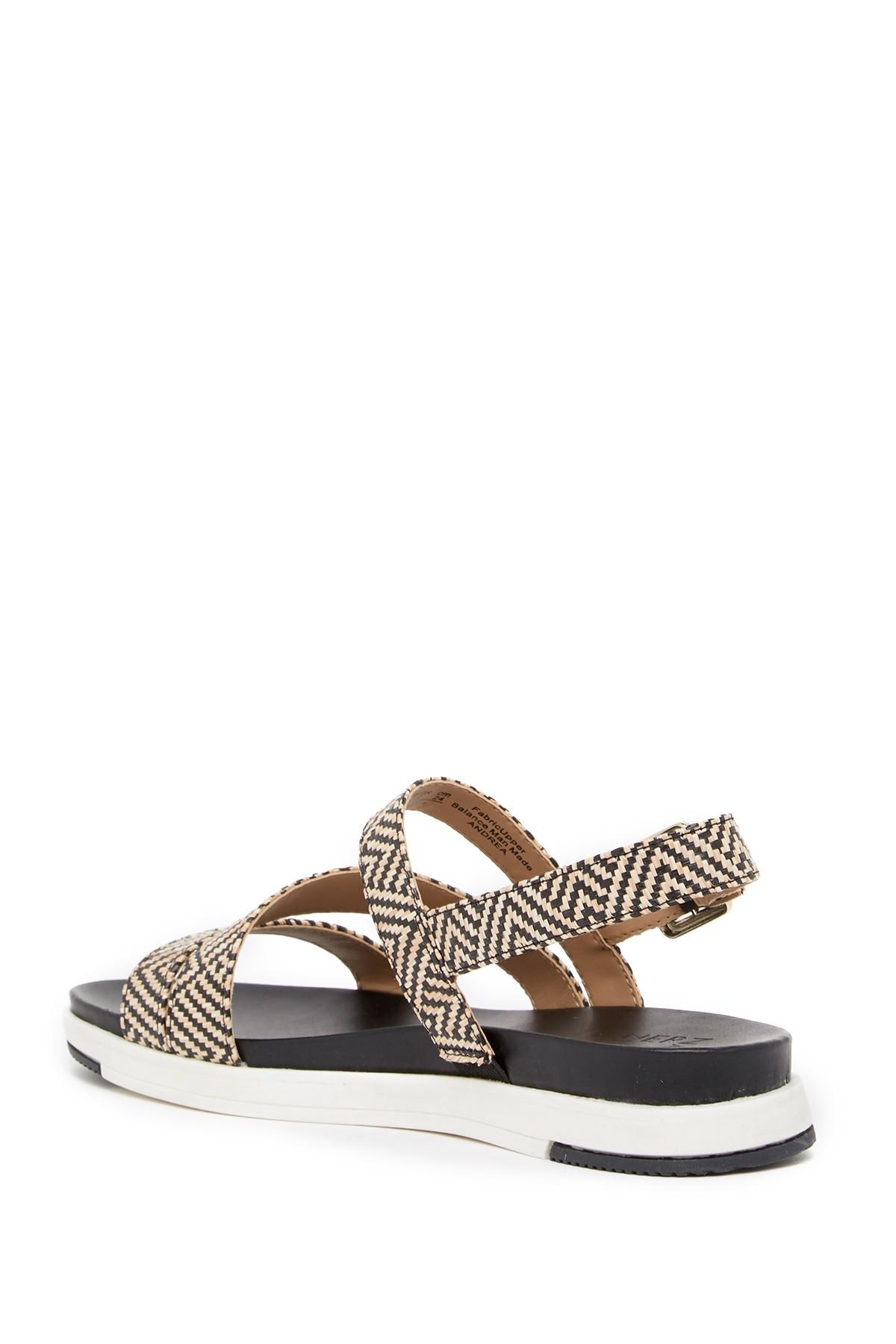 1349996baa33 Lyst - Naturalizer Andrea Woven Sandal
