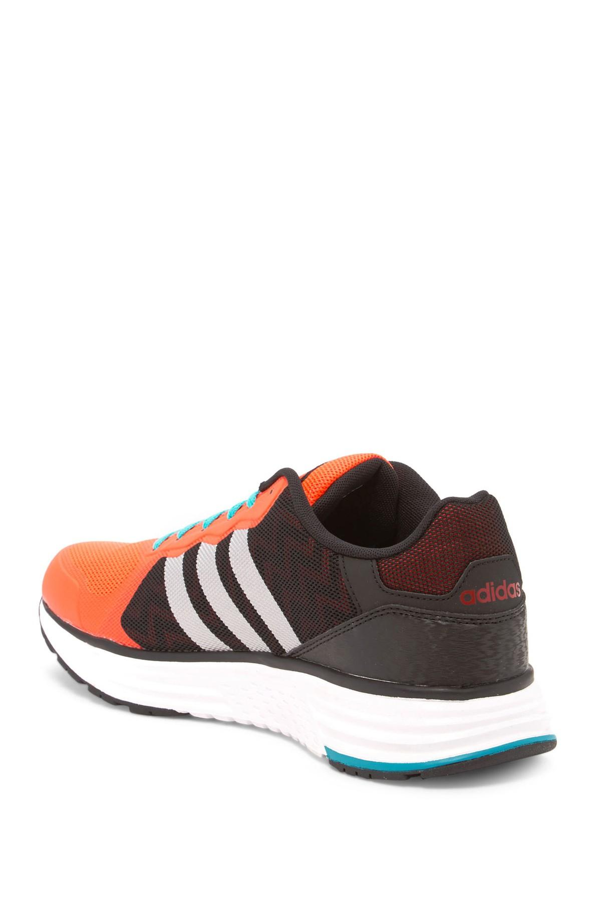 Adidas Black And White Shoes With Rainbow Back