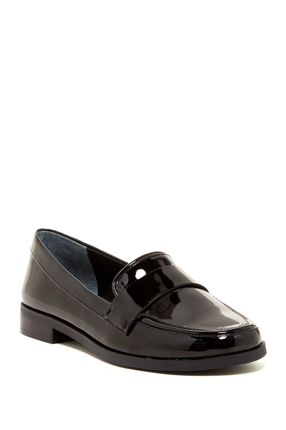 Franco Sarto Valera Patent Loafer In Black Lyst