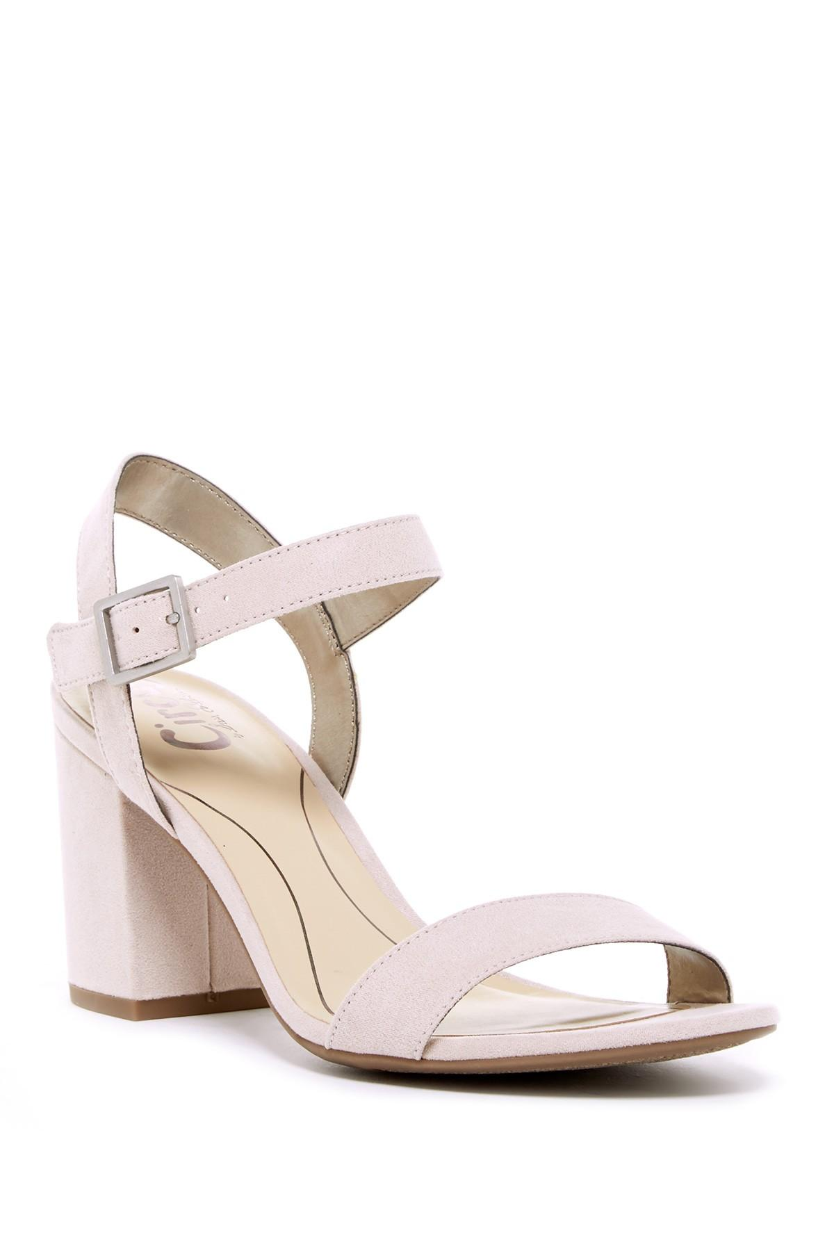f482339e7725 Lyst - Circus by Sam Edelman Ashton Heeled Sandal in Pink