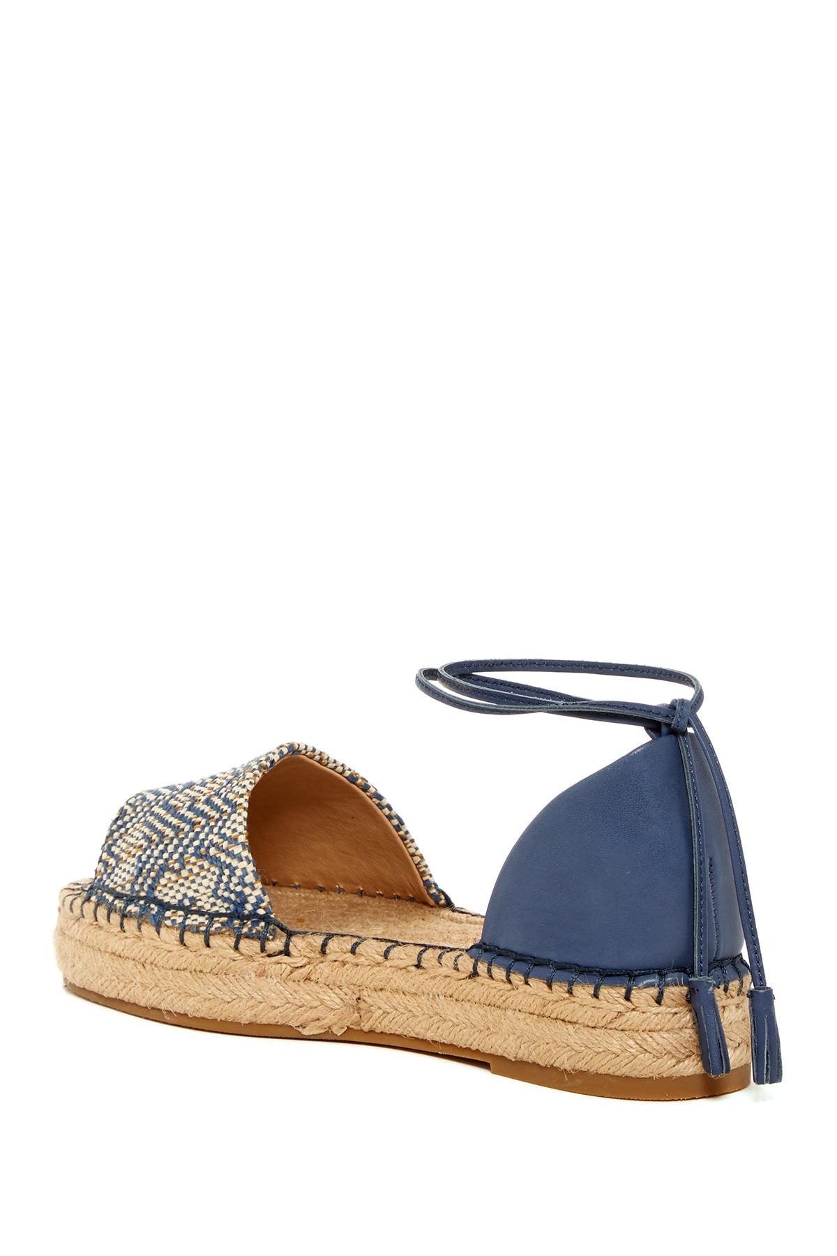 Splendid Edna Espadrille Platform Sandal In Blue Lyst