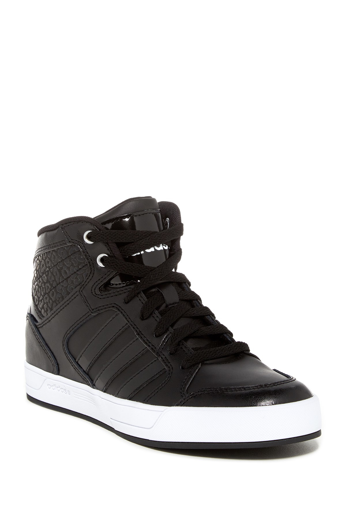 Adidas High Tops Shoes Mens Originals Lace Up Leather Black