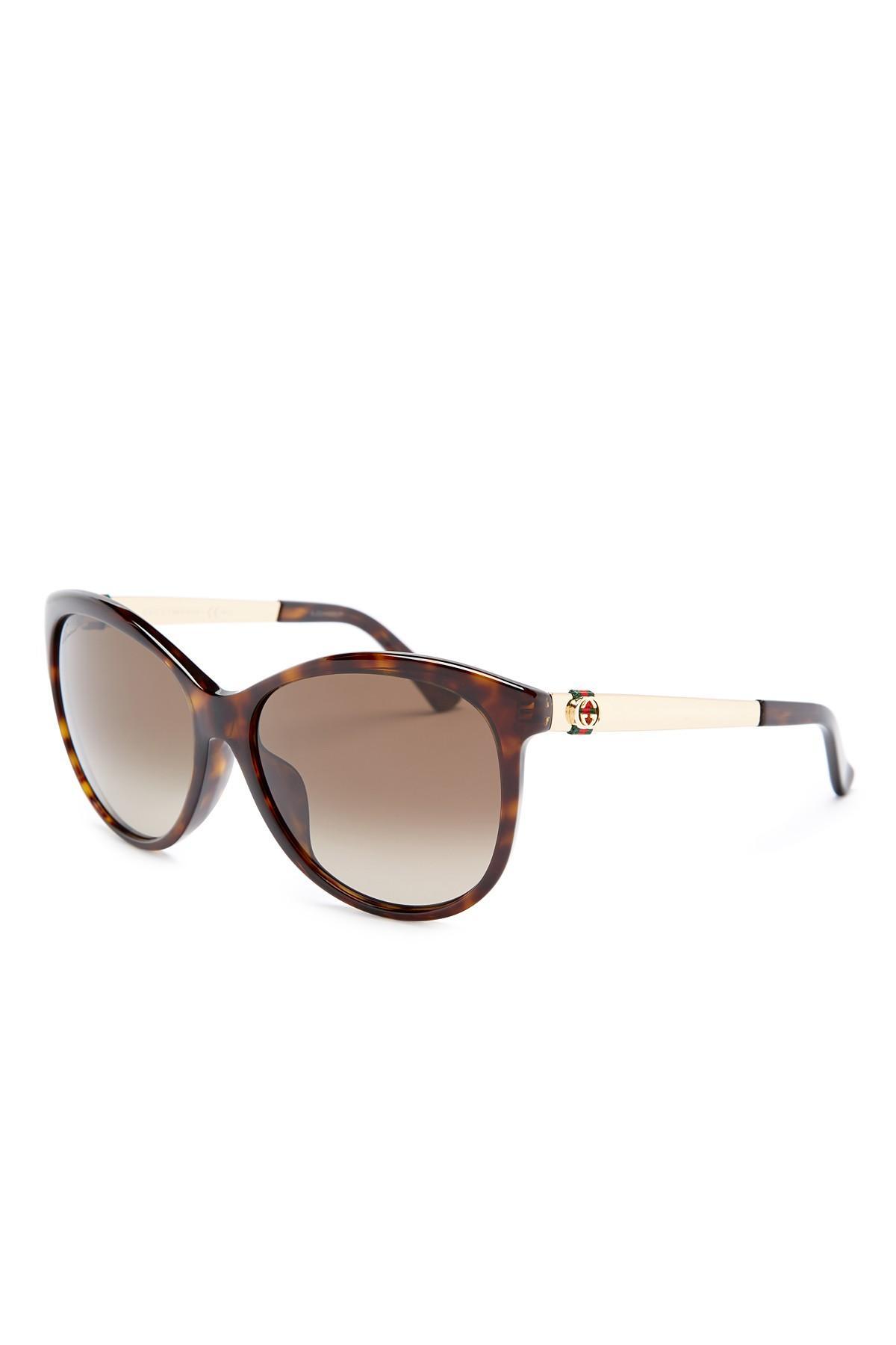 6e5aa4a6ef Gucci Women s Cat Eye Sunglasses Nordstrom Rack
