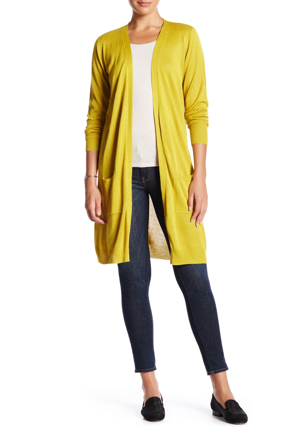 Yellow Duster Cardigan Images - Reverse Search
