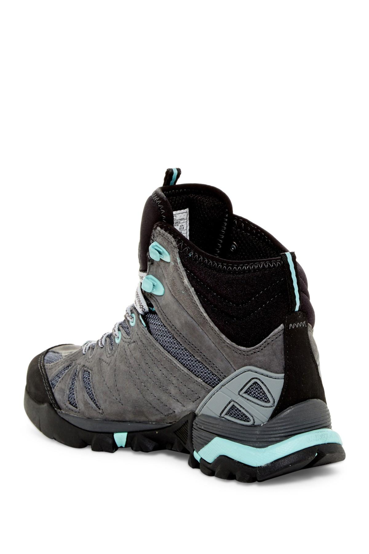 Lyst Merrell Capra Mid Waterproof Hiking Boot In Black