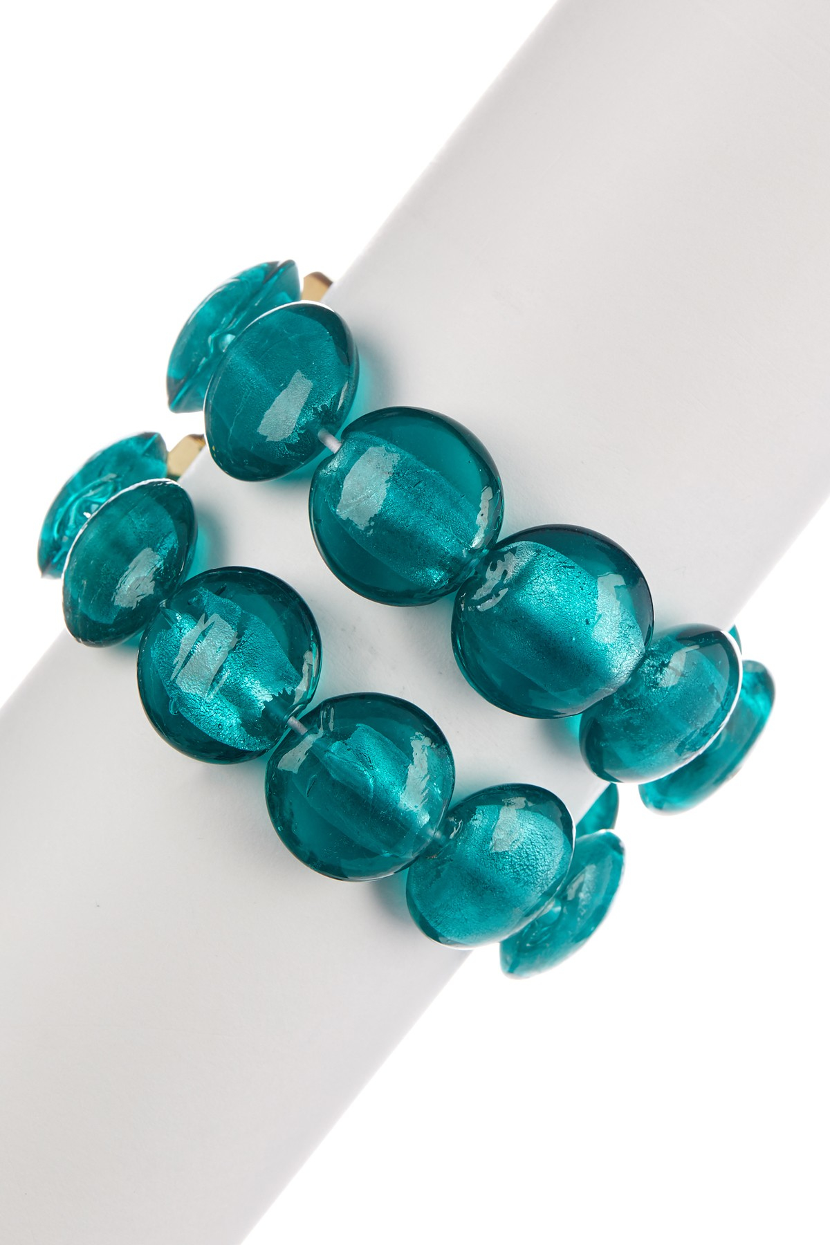 Lyst Kenneth Cole Teal Morano Stretch Bracelet In Blue