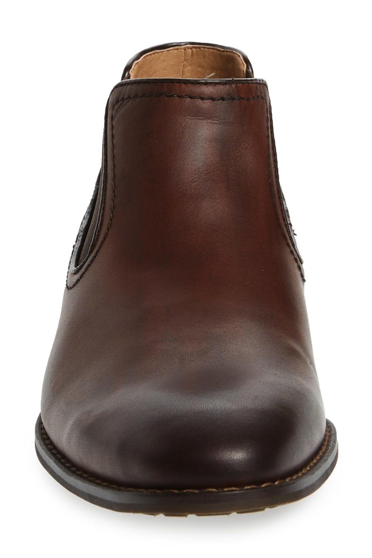 Lyst Steve Madden Kelen Chelsea Boot In Brown For Men