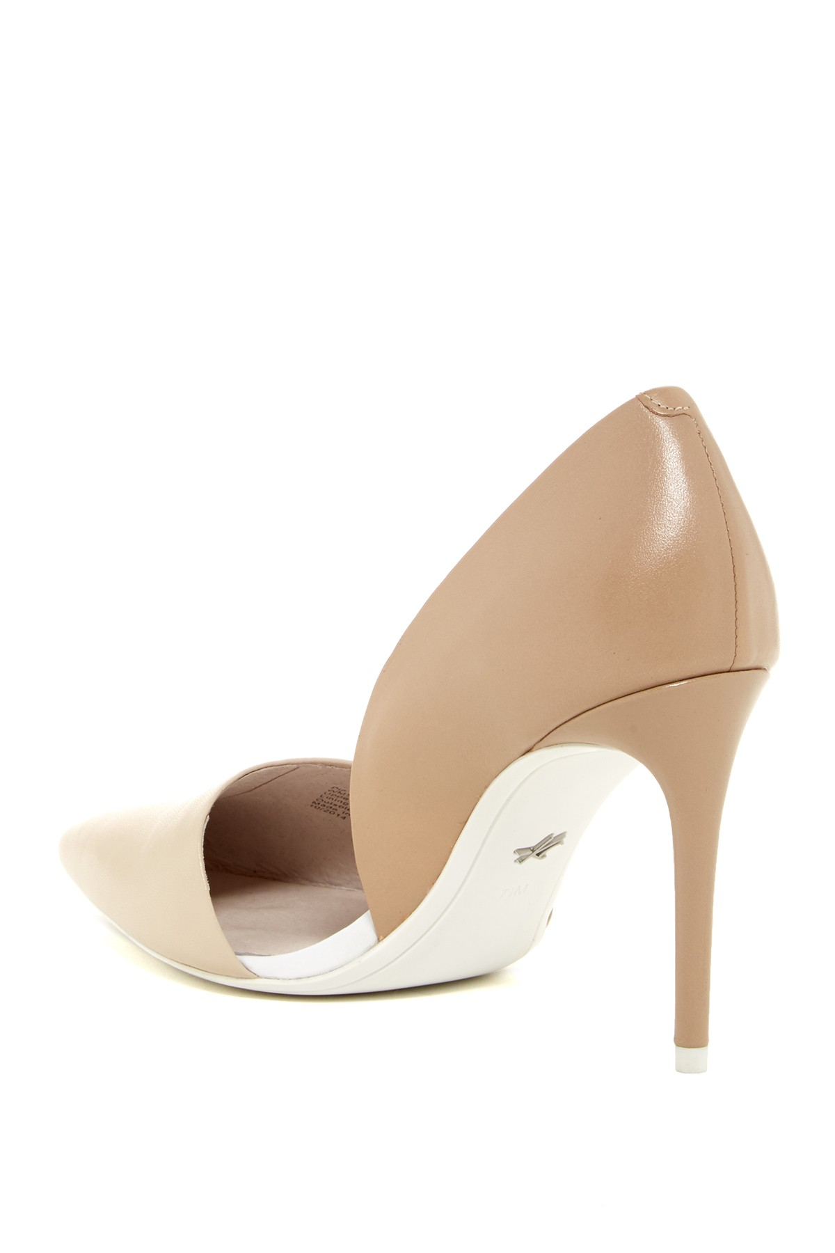 Kenneth cole Pia D'orsay Pump in Natural | Lyst