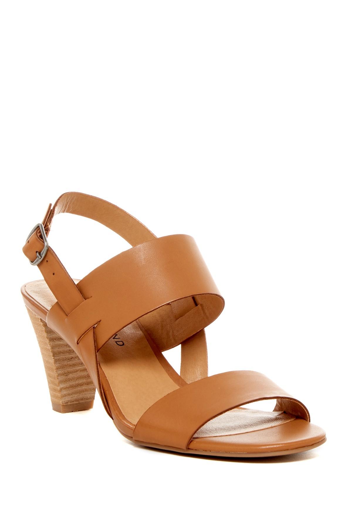 533997d9a21 Lyst - Lucky Brand Patie Heel Sandal in Brown