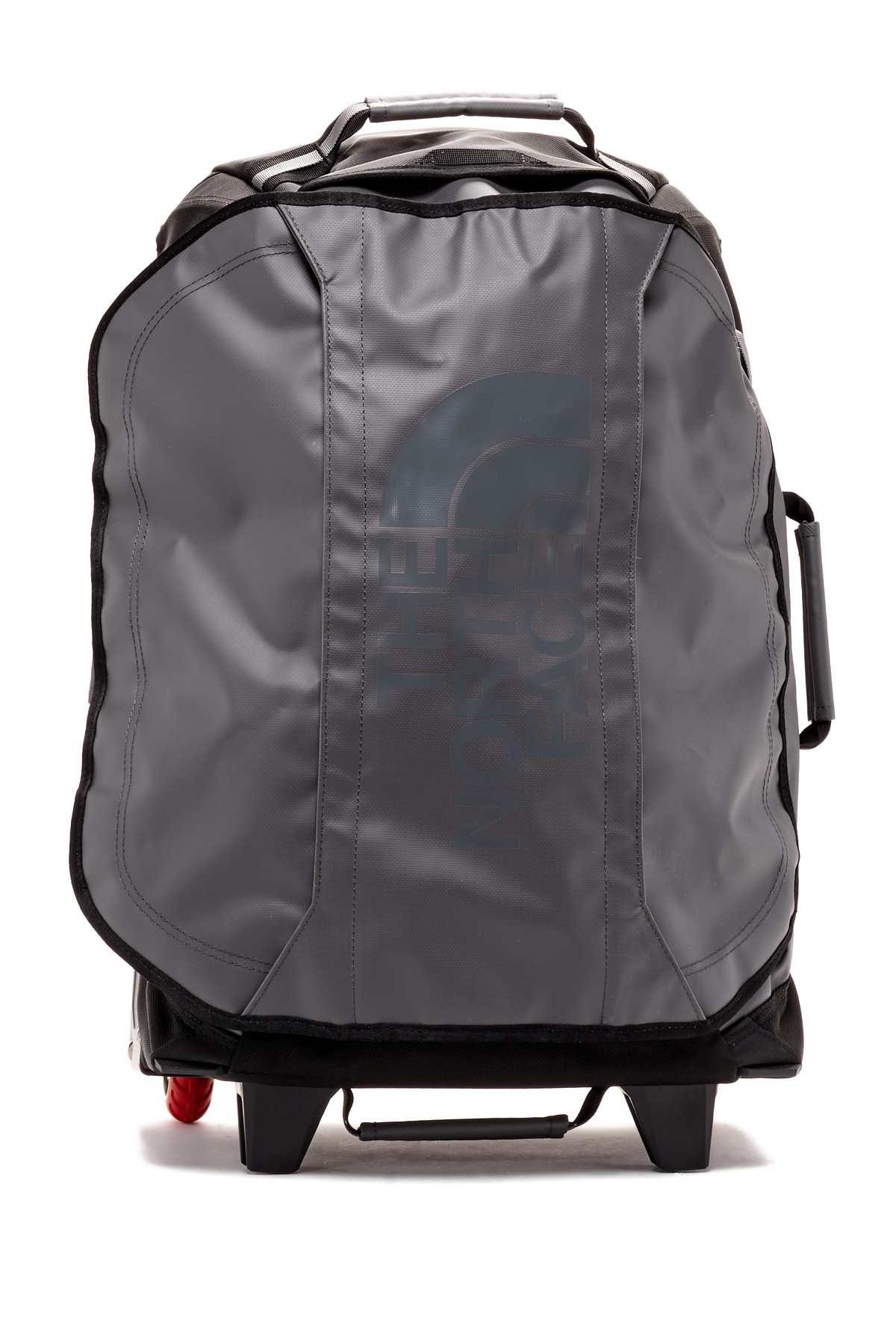 the north face 22 rolling thunder wheeled duffel in black. Black Bedroom Furniture Sets. Home Design Ideas