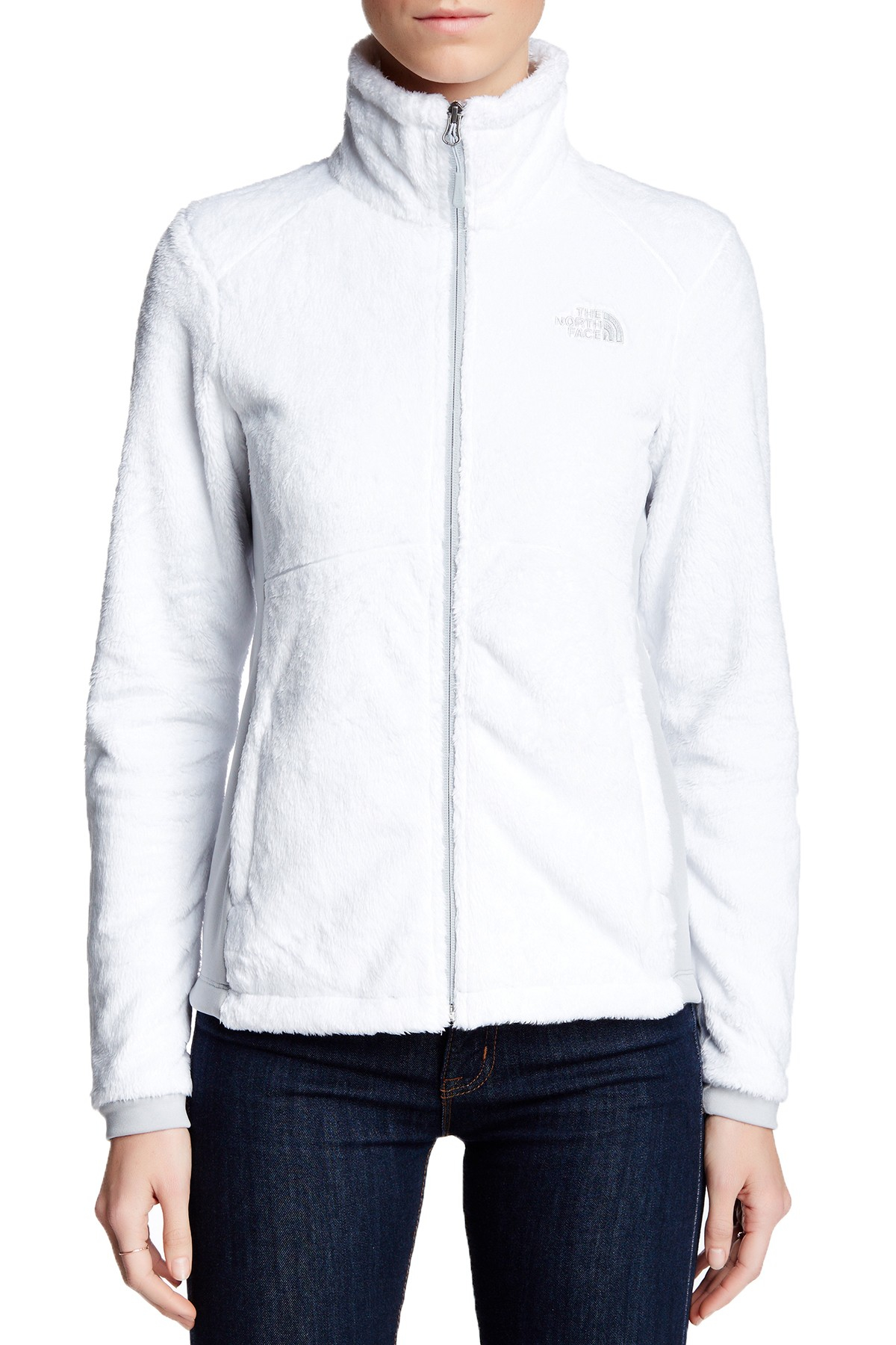 The North Face Tech Osito Fleece Jacket In White Lyst