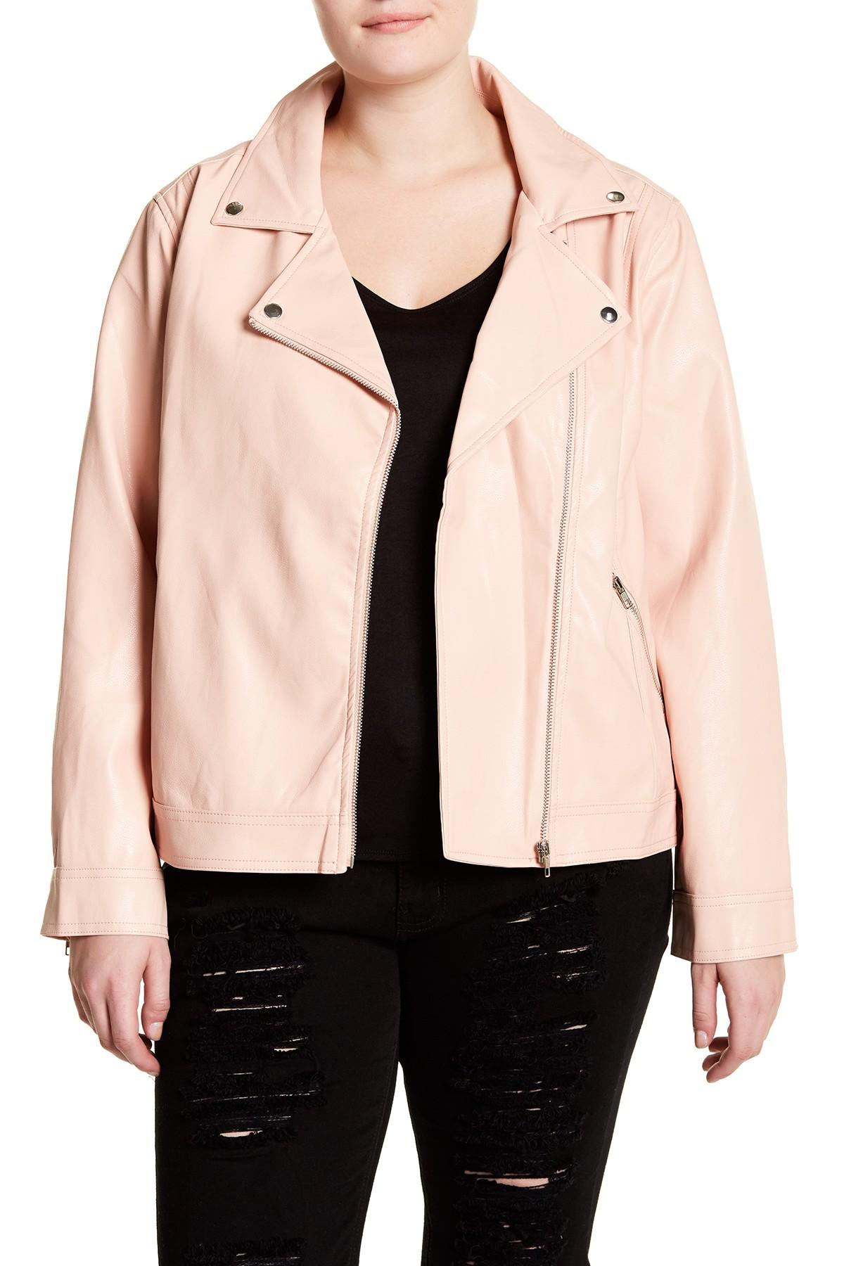 Shop for pink faux leather jacket online at Target. Free shipping on purchases over $35 and save 5% every day with your Target REDcard.