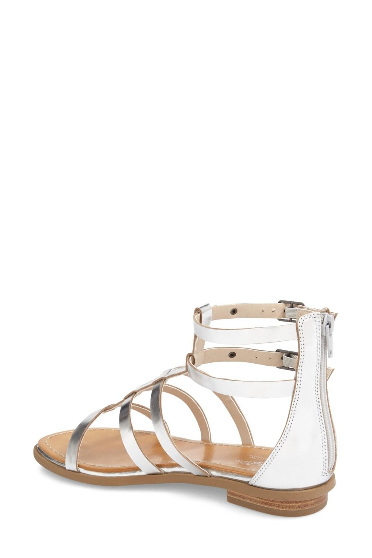 be1ae7d537ae0 Lyst - Seychelles 'peachy' Gladiator Flat Sandal (women) in Metallic