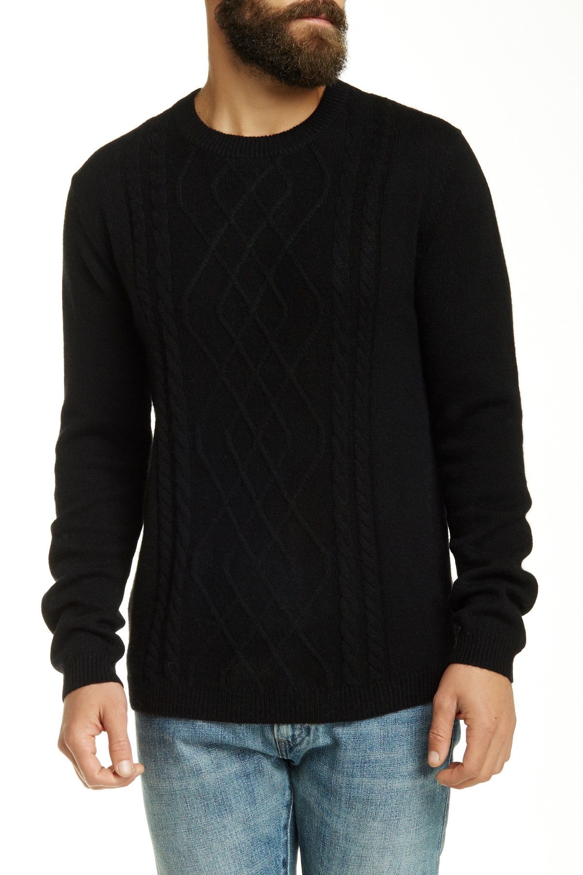 These deals are going fast! 75% Off polo ralph lauren cream cable-knit crew-neck sweater l. Now $ Was $