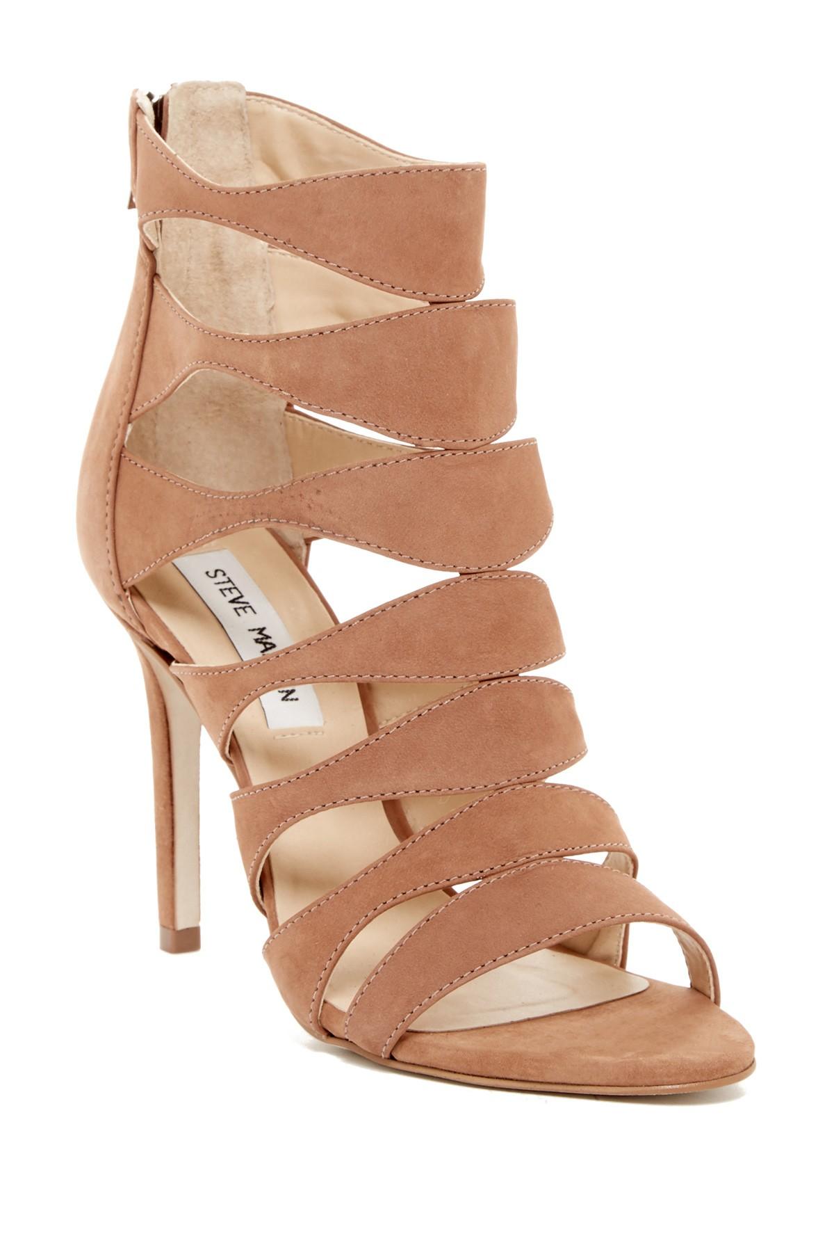 6dcfc53629cf Lyst Steve Madden Swyndlee Cutout Sandal In Brown. Steve Madden Casita  Ankle Strap Sandal At Nordstrom Rack Womens Shoes Heeled Sandals
