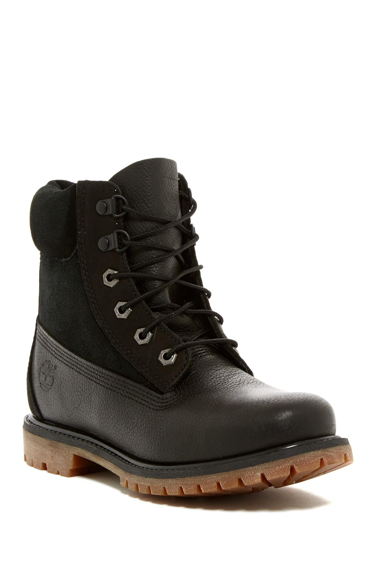 91d81718ea9 Lyst - Timberland 6 Inch Premium Waterproof Boot in Black