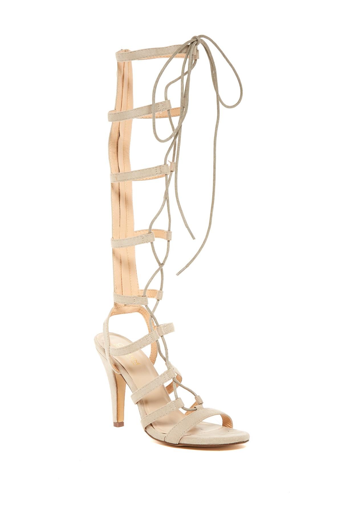 Lyst Catherine Malandrino Toyogie High Heel Gladiator