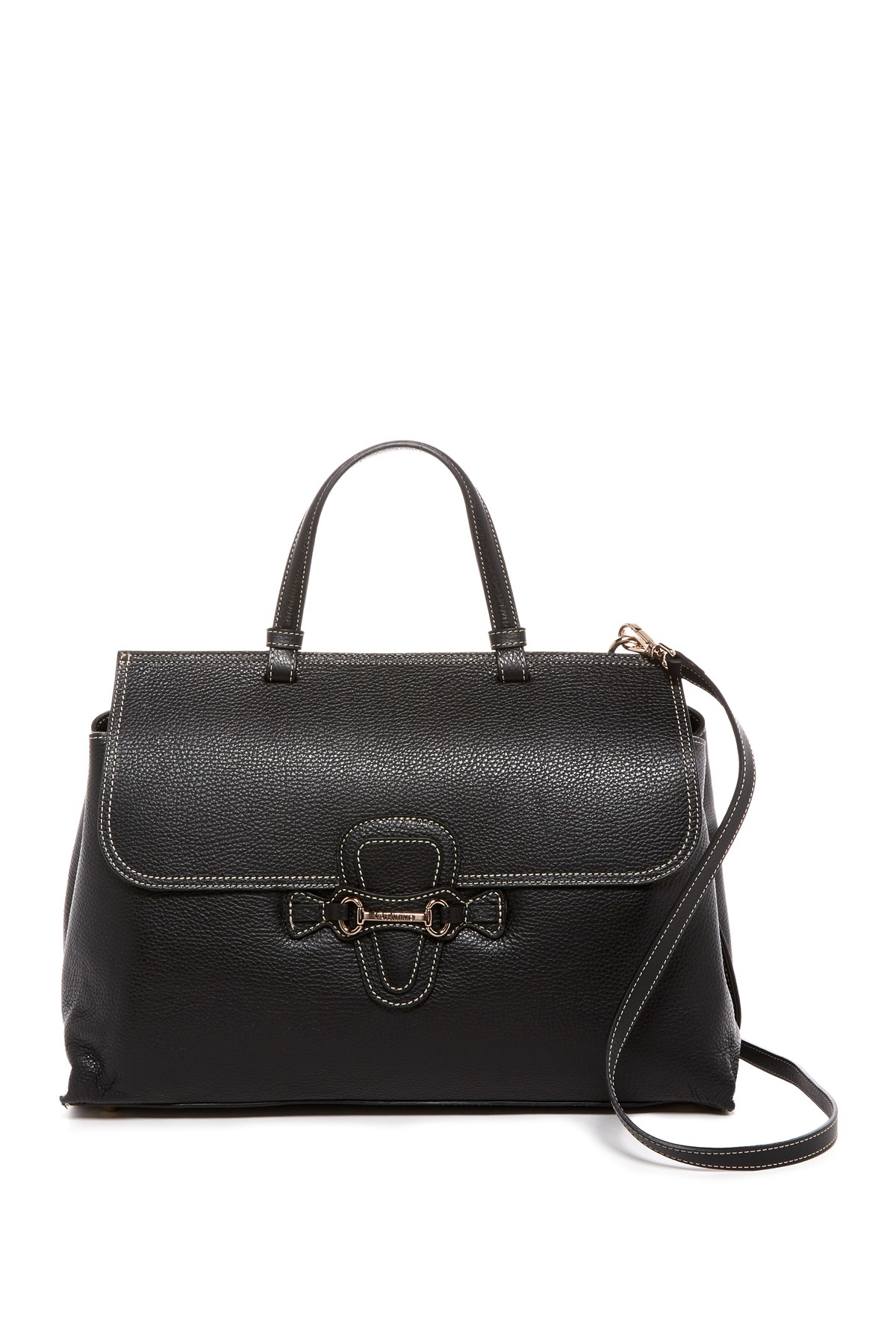 valentino by mario valentino olimpia leather satchel in. Black Bedroom Furniture Sets. Home Design Ideas