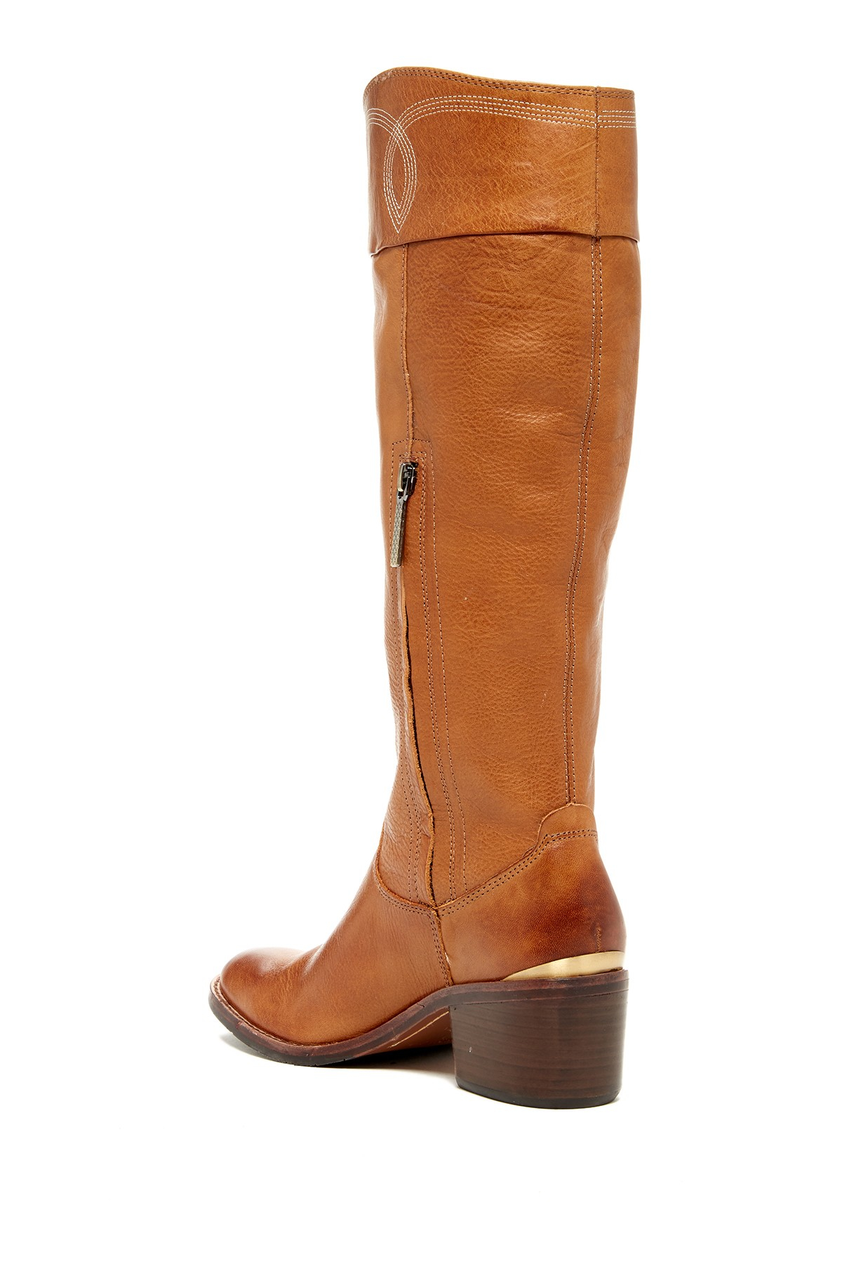 Lyst Donald J Pliner Willi Riding Boot In Brown