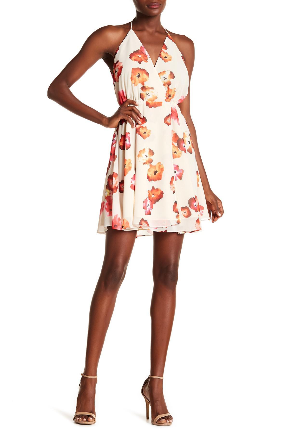 269797f41cfe Haute Hippie The Harmony Wrap Dress - Lyst